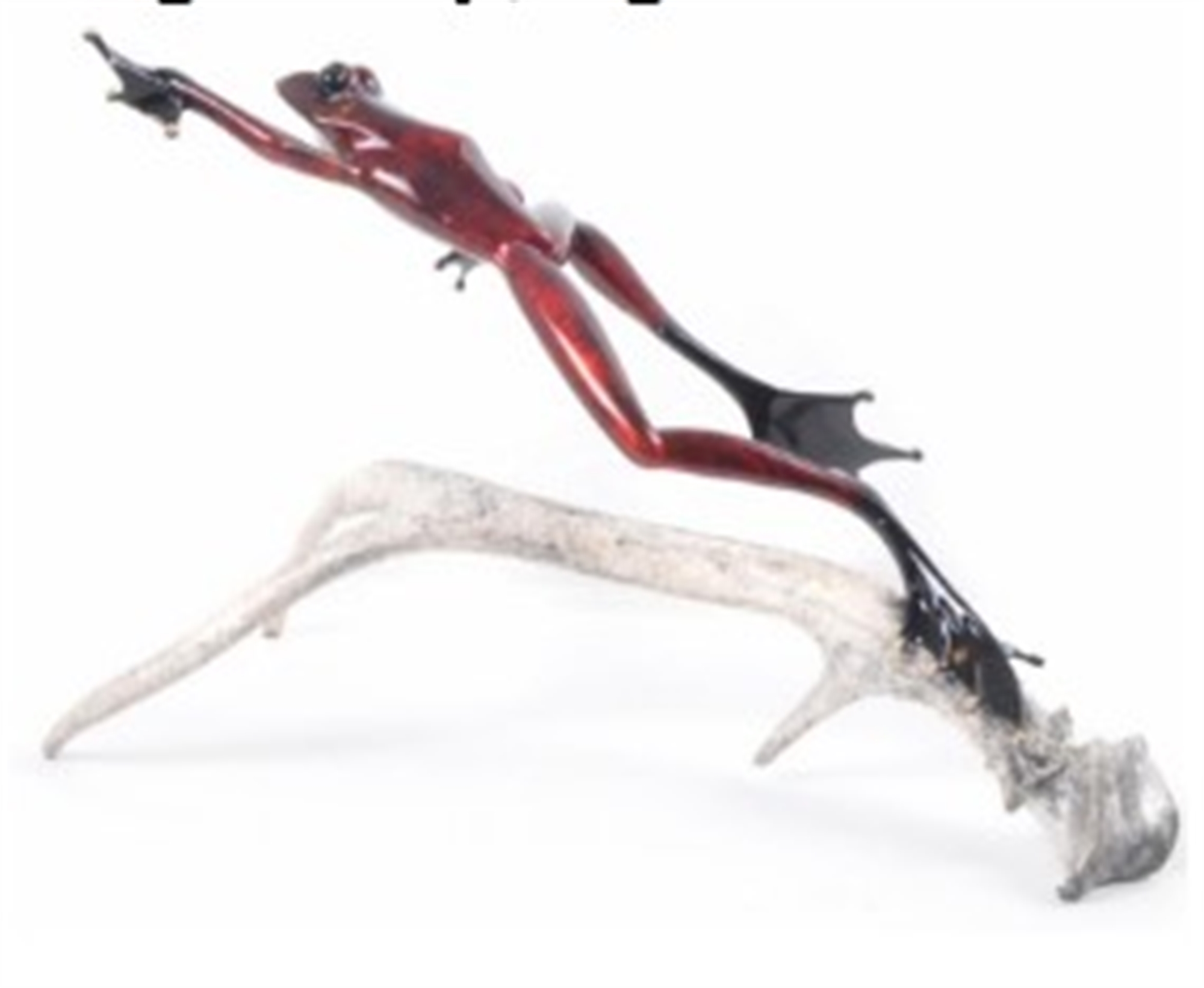 Stag's Leap- Light Antler by The Frogman
