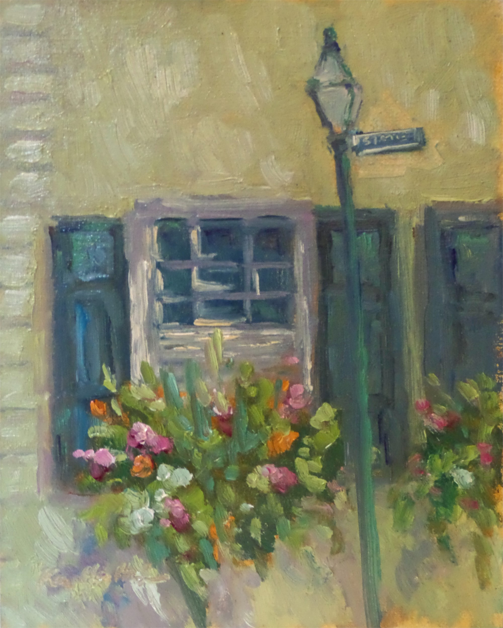 Flowers on State Street by Karen Hewitt Hagan