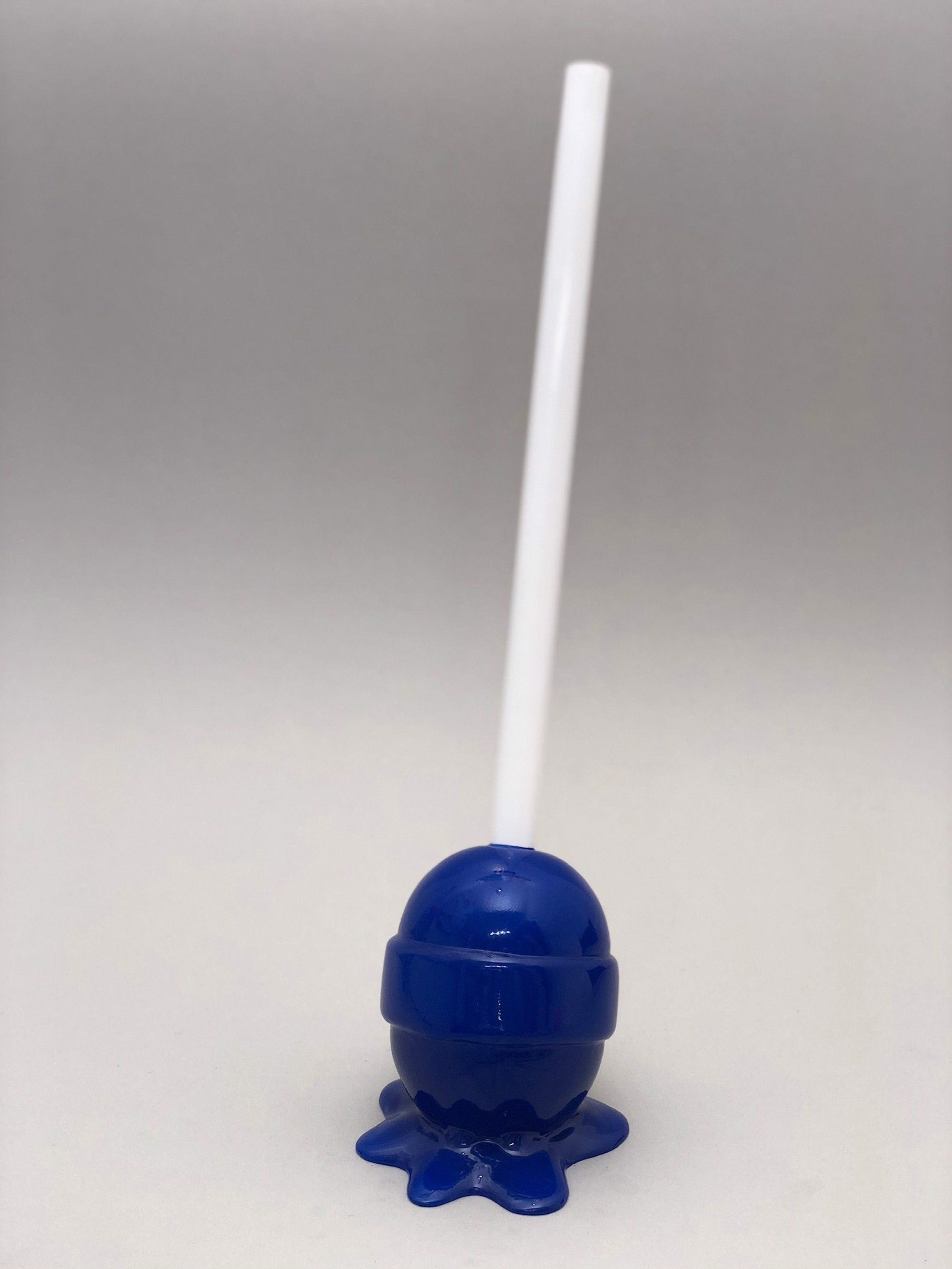 The Sweet Life, small, blue Lollipop by Elena Bulatova