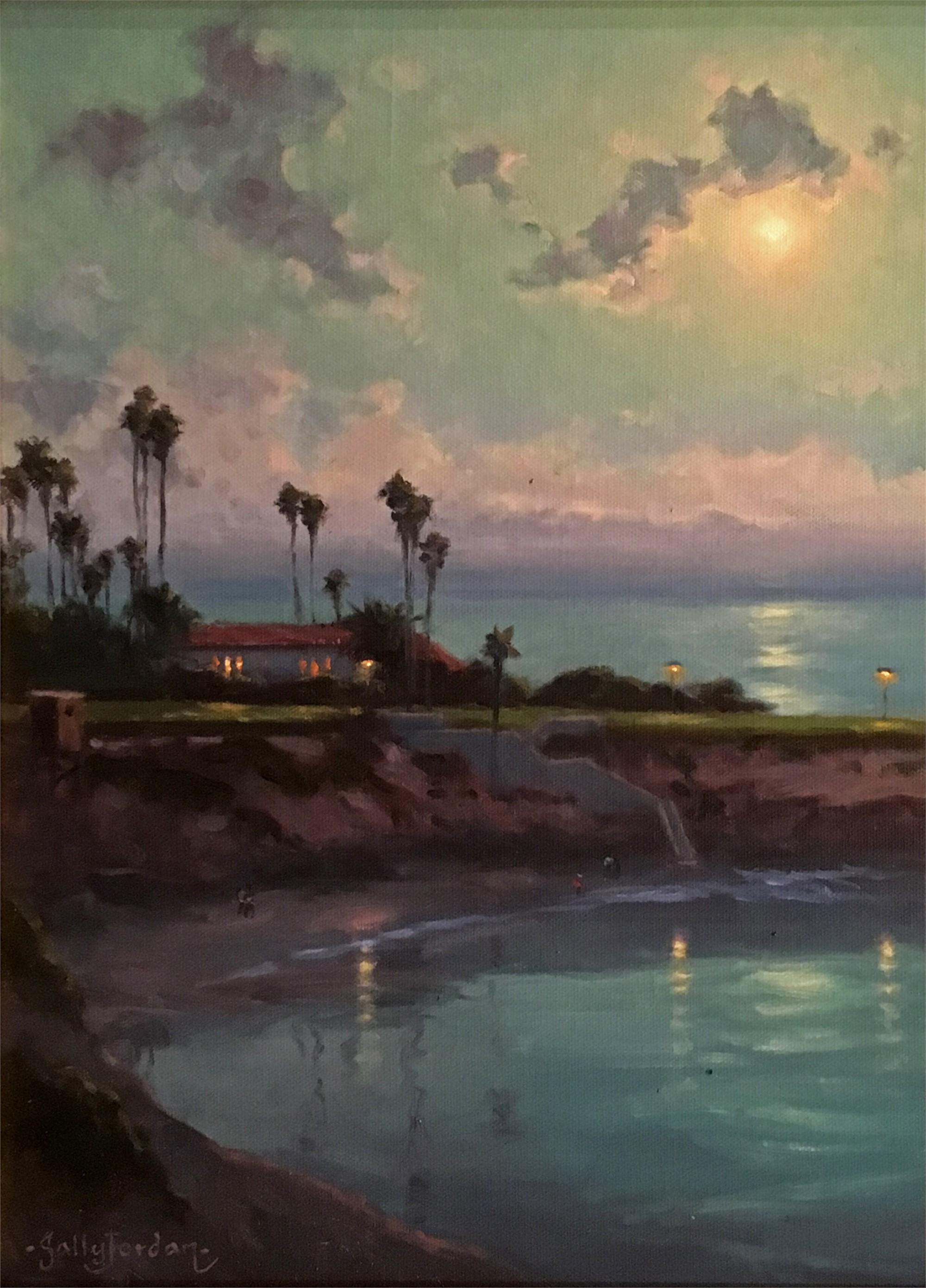 Moonlight Over La Jolla by JORDAN