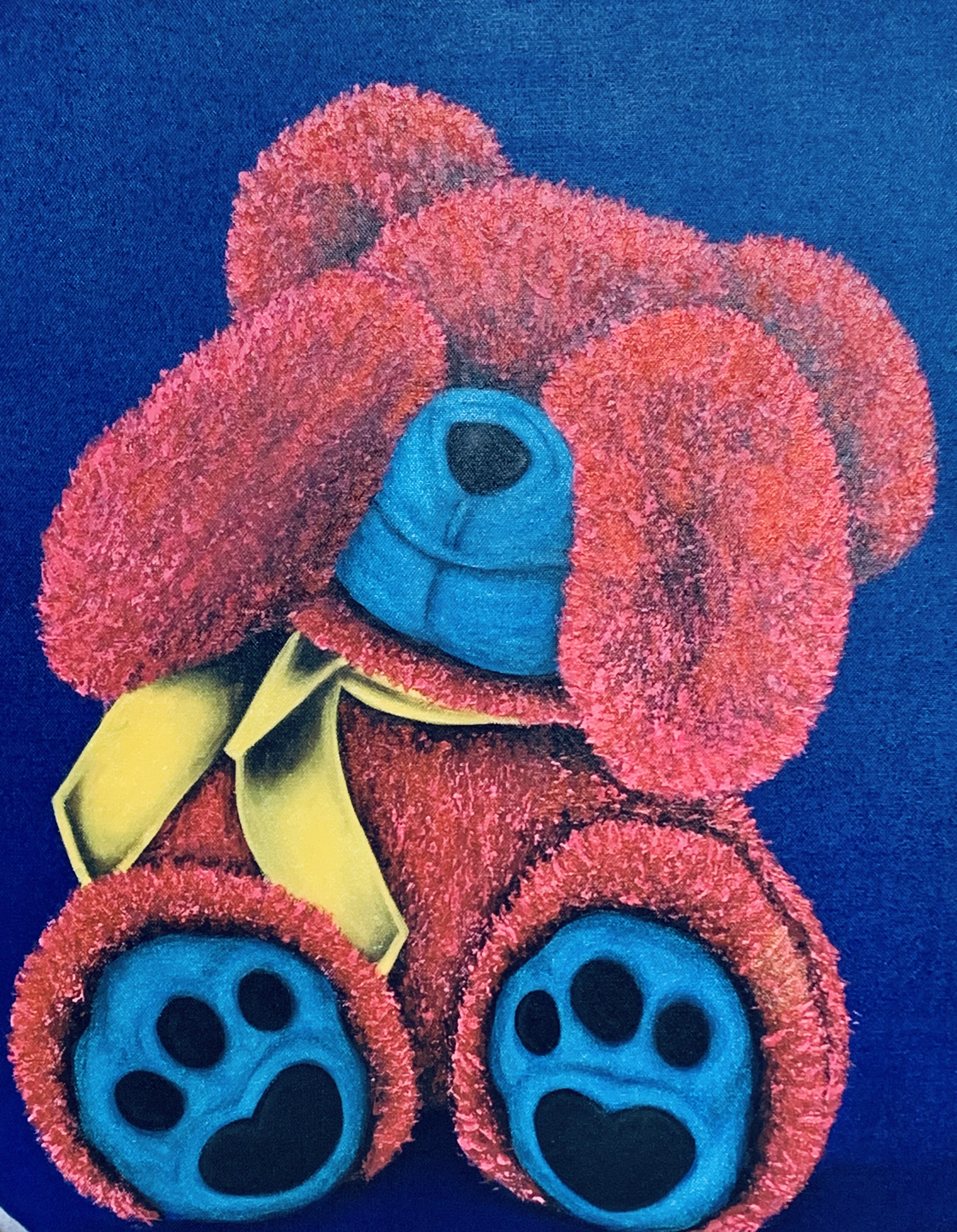 "Bear series ""Shy Bear"" by Buma Project"