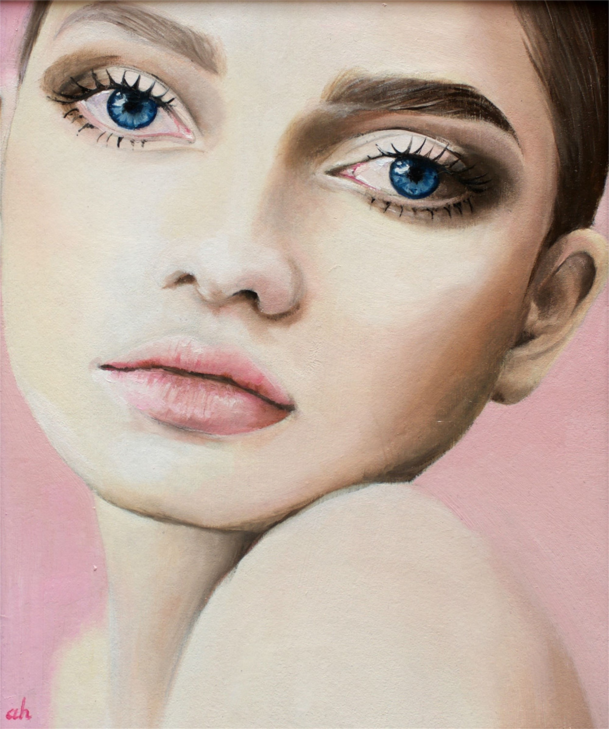Kat 1 by Anna Hammer