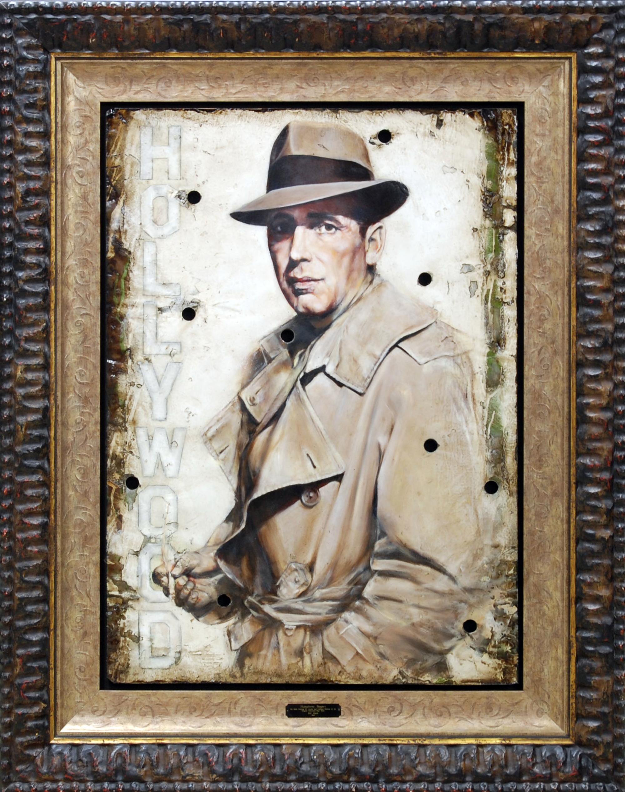Humphrey Bogart #1 by Bill Mack