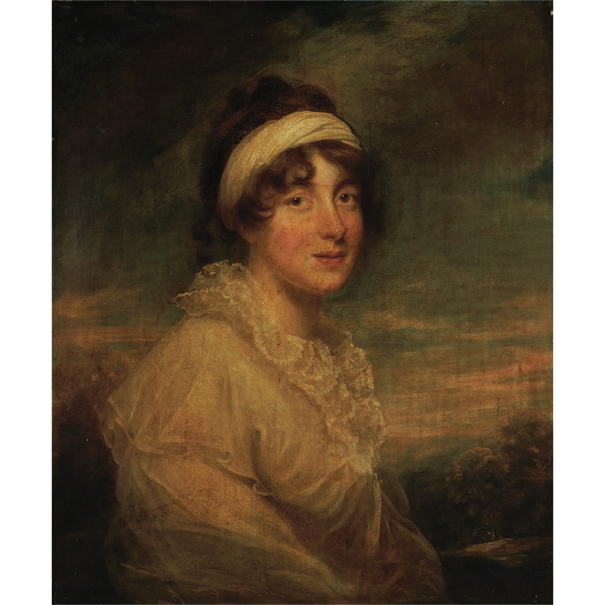 PORTRAIT OF LADY PAMELA GORDON by Sir. William Beechey