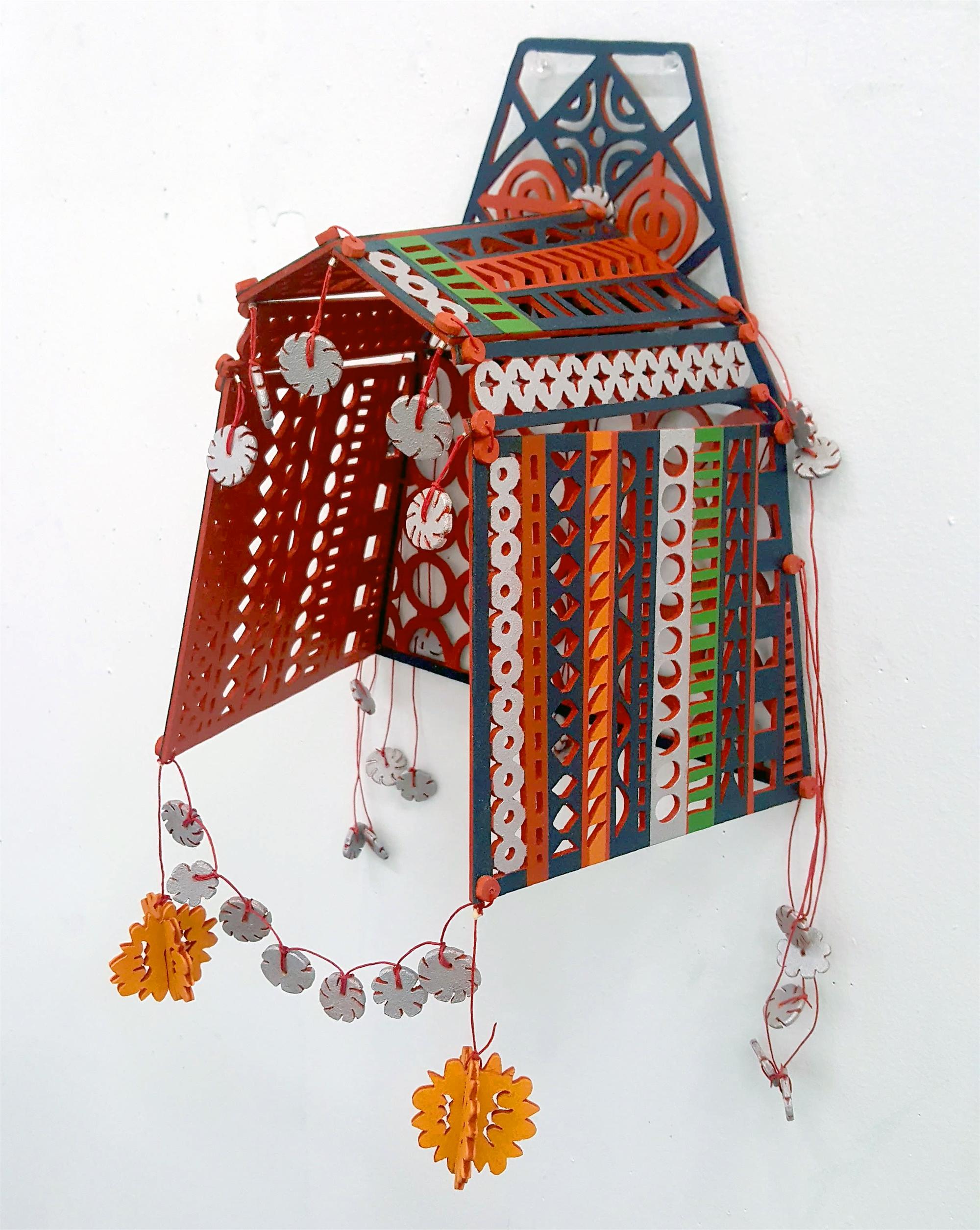 Akha Headdress by June Sekiguchi