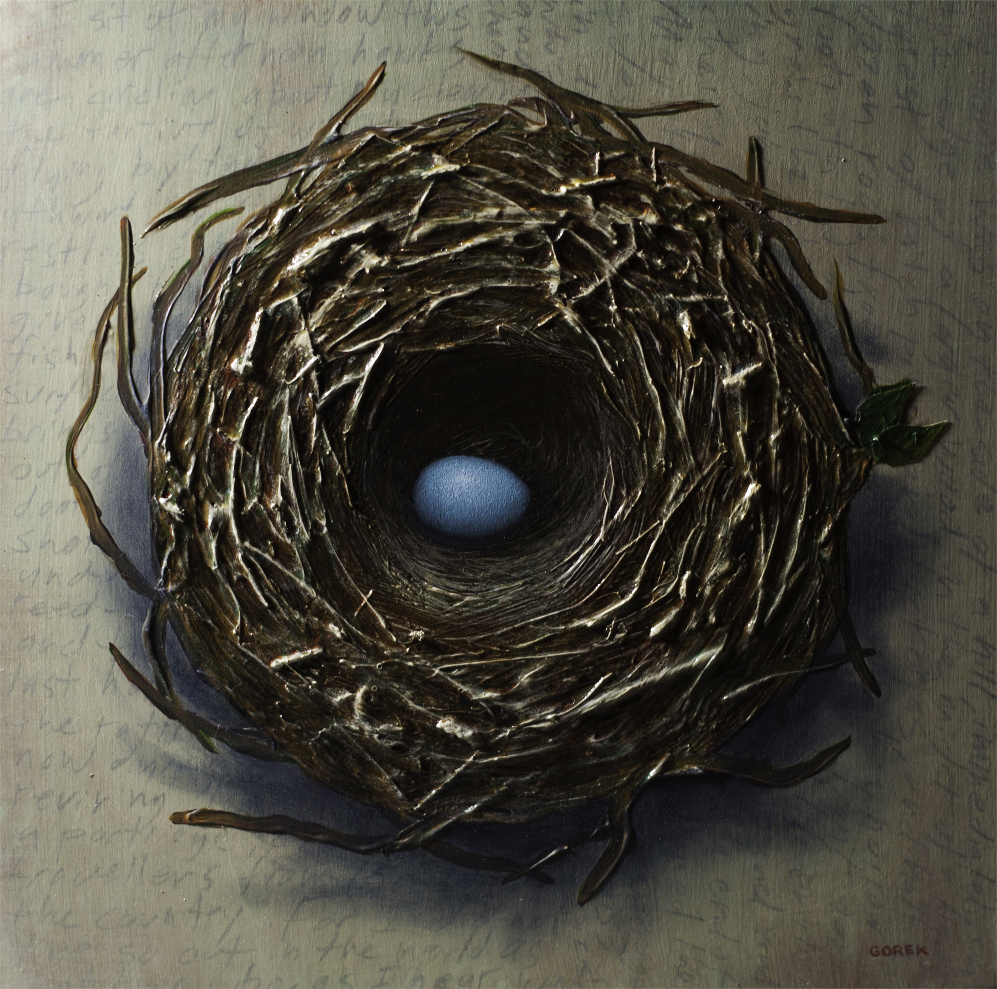 Bird's Nest, One Egg by Thane Gorek