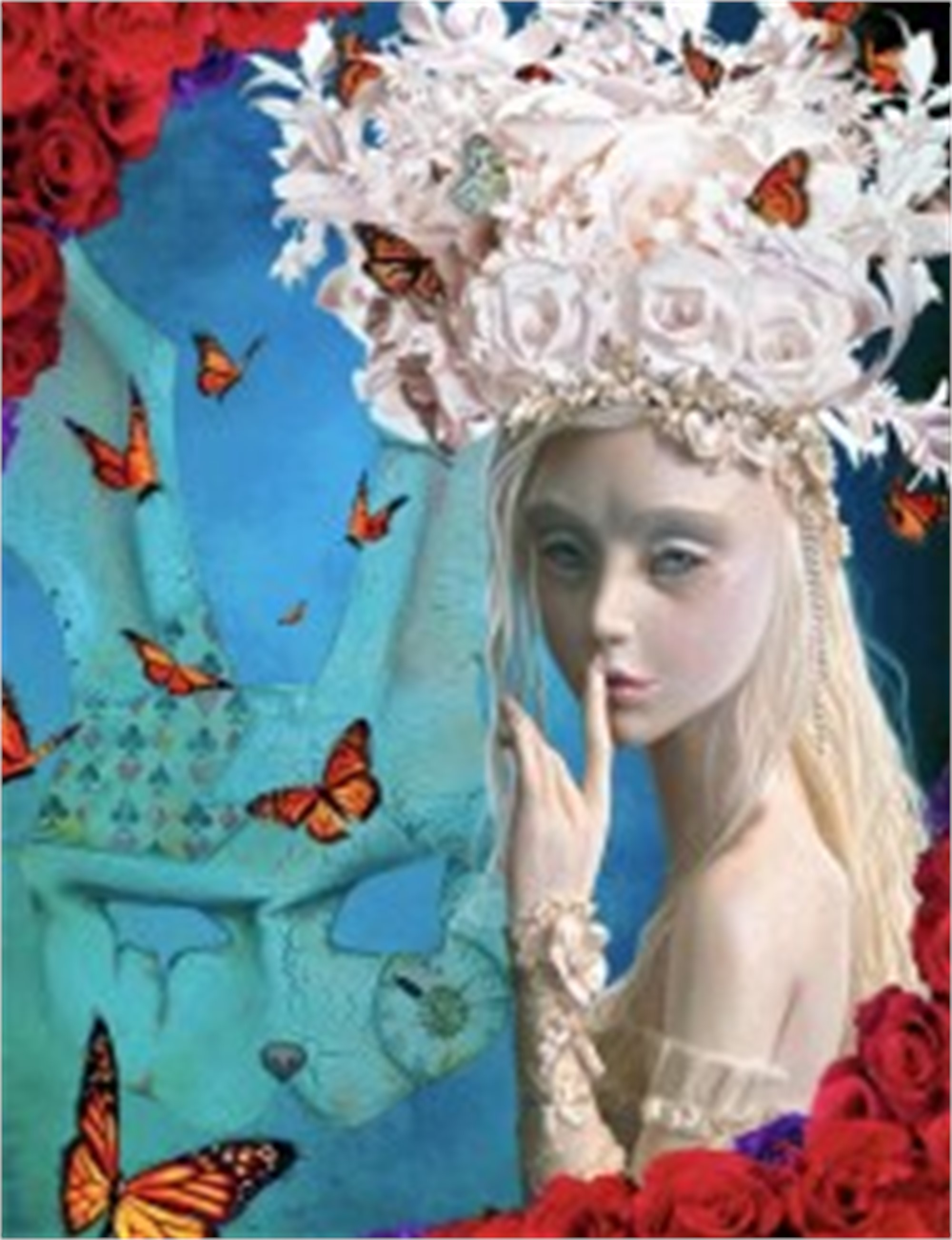 Alice - Wonderland White Queen by Adam Scott Rote