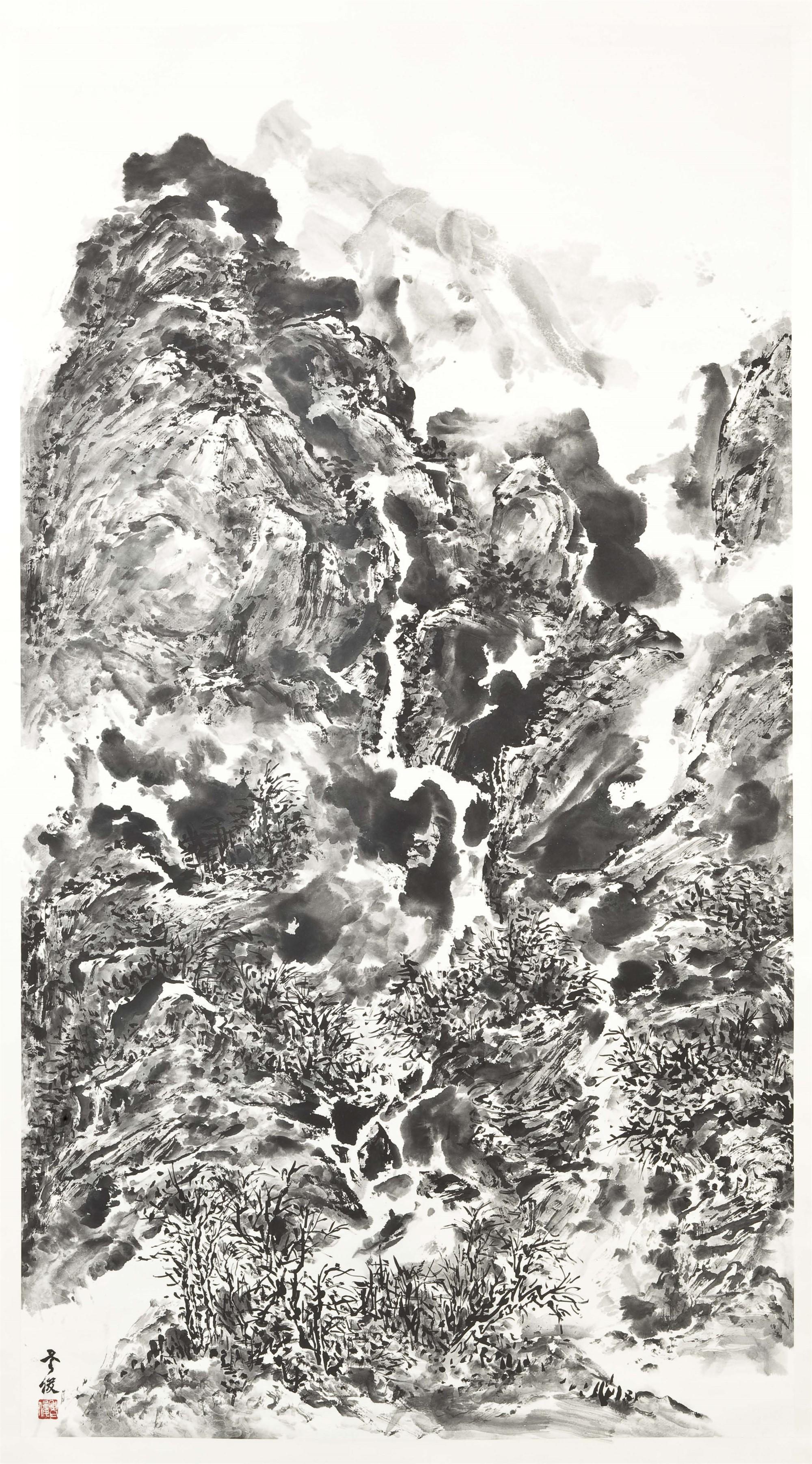 LANDSCAPE 2 by Xiaojun Zeng