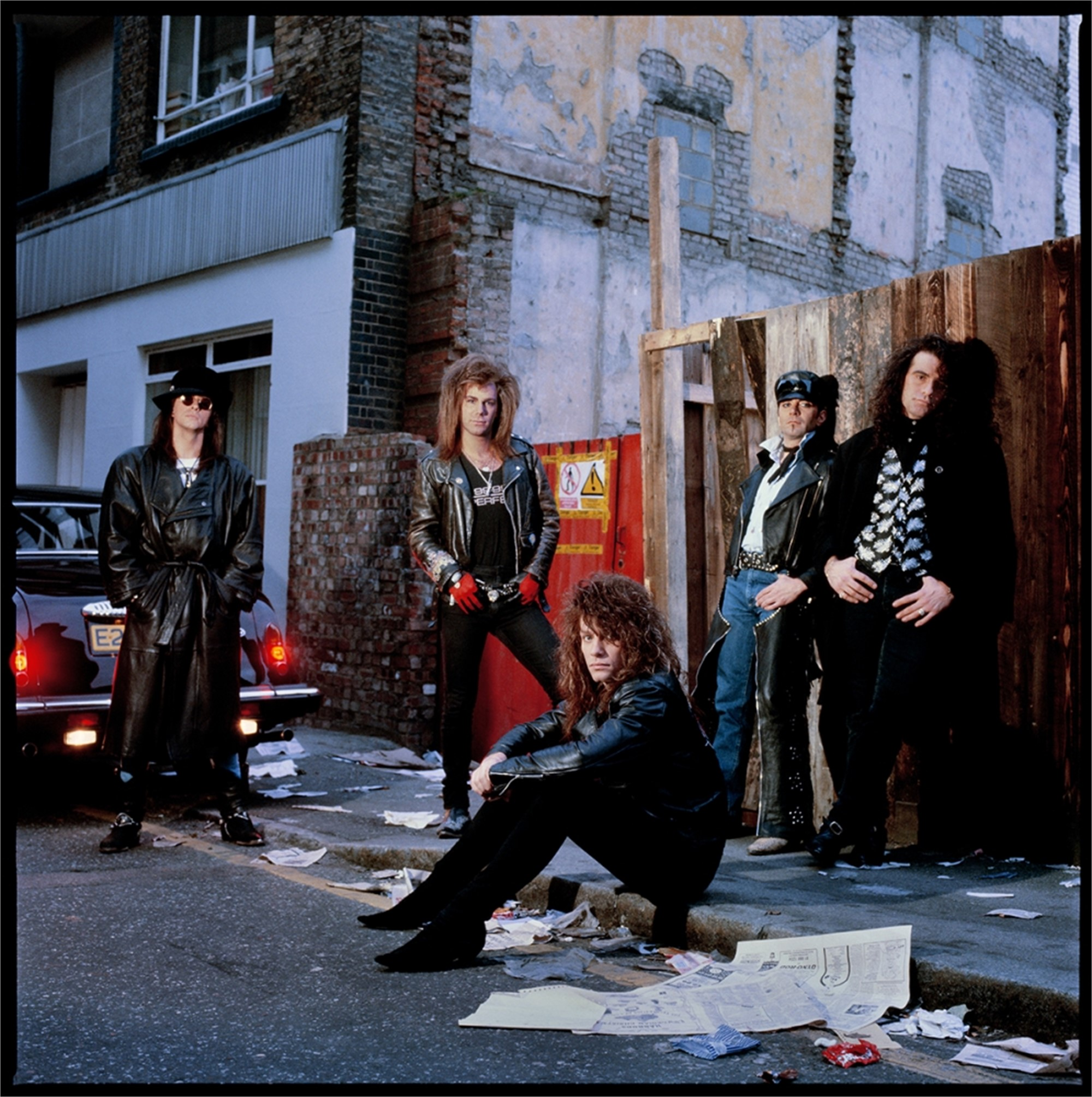 88215 Bon Jovi Band In the Alley Color by Timothy White