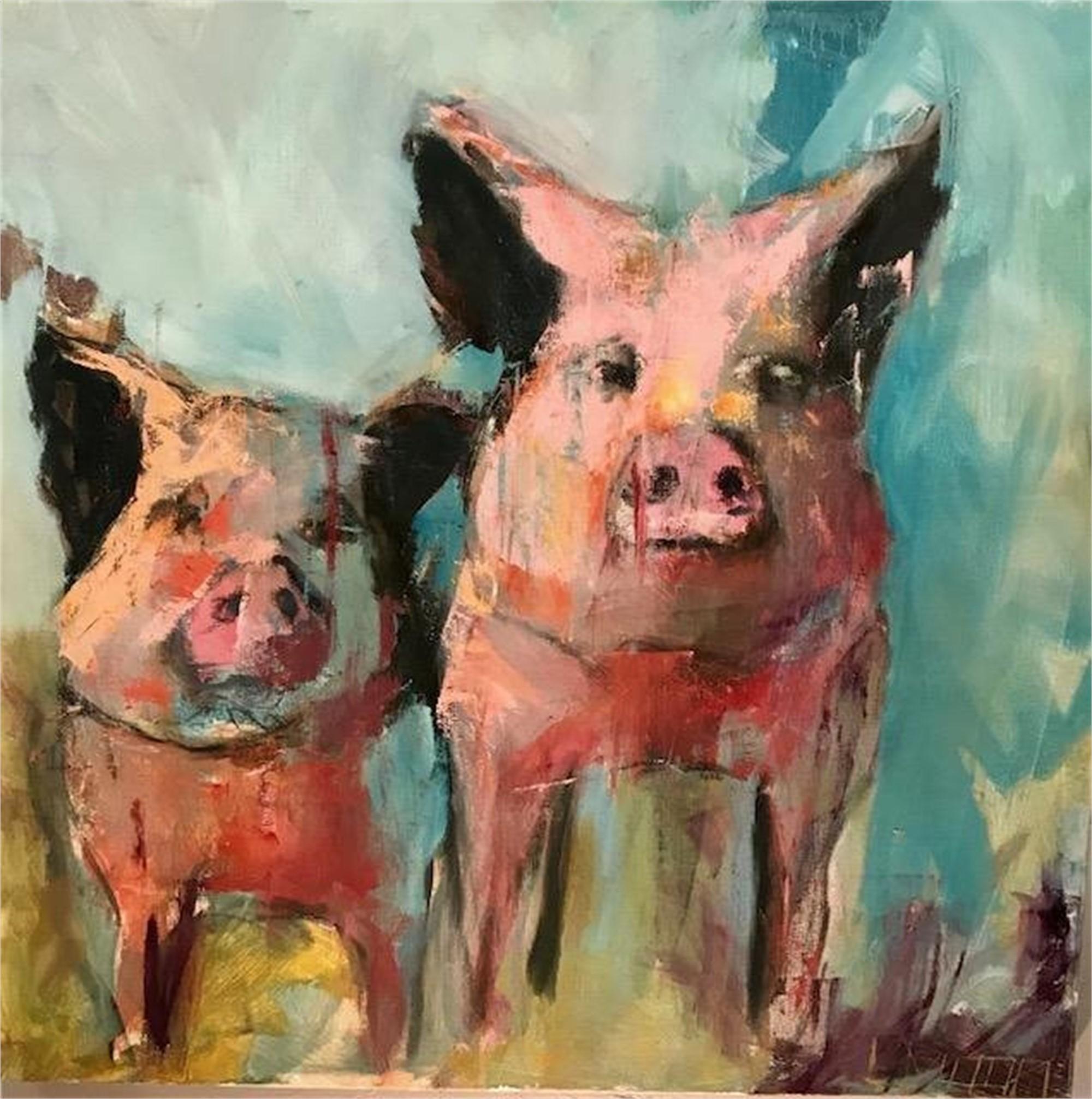 Piggies by Lisa Moore