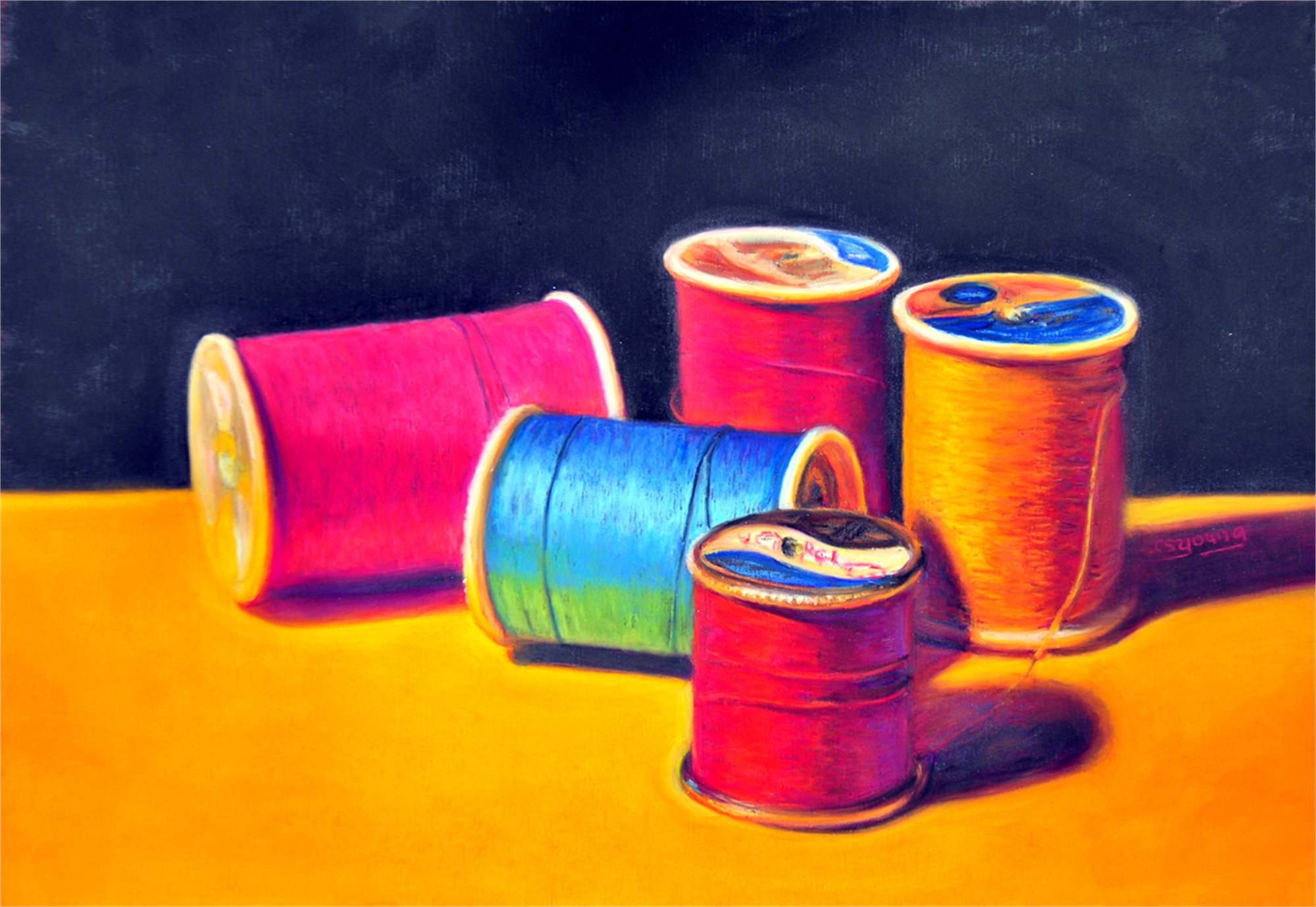 Sunlit Spools by Caroline S. Young