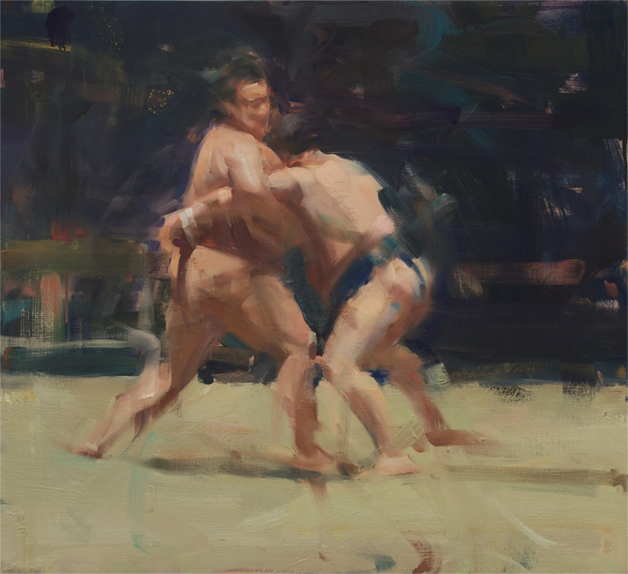 Sumo Match by David Shevlino