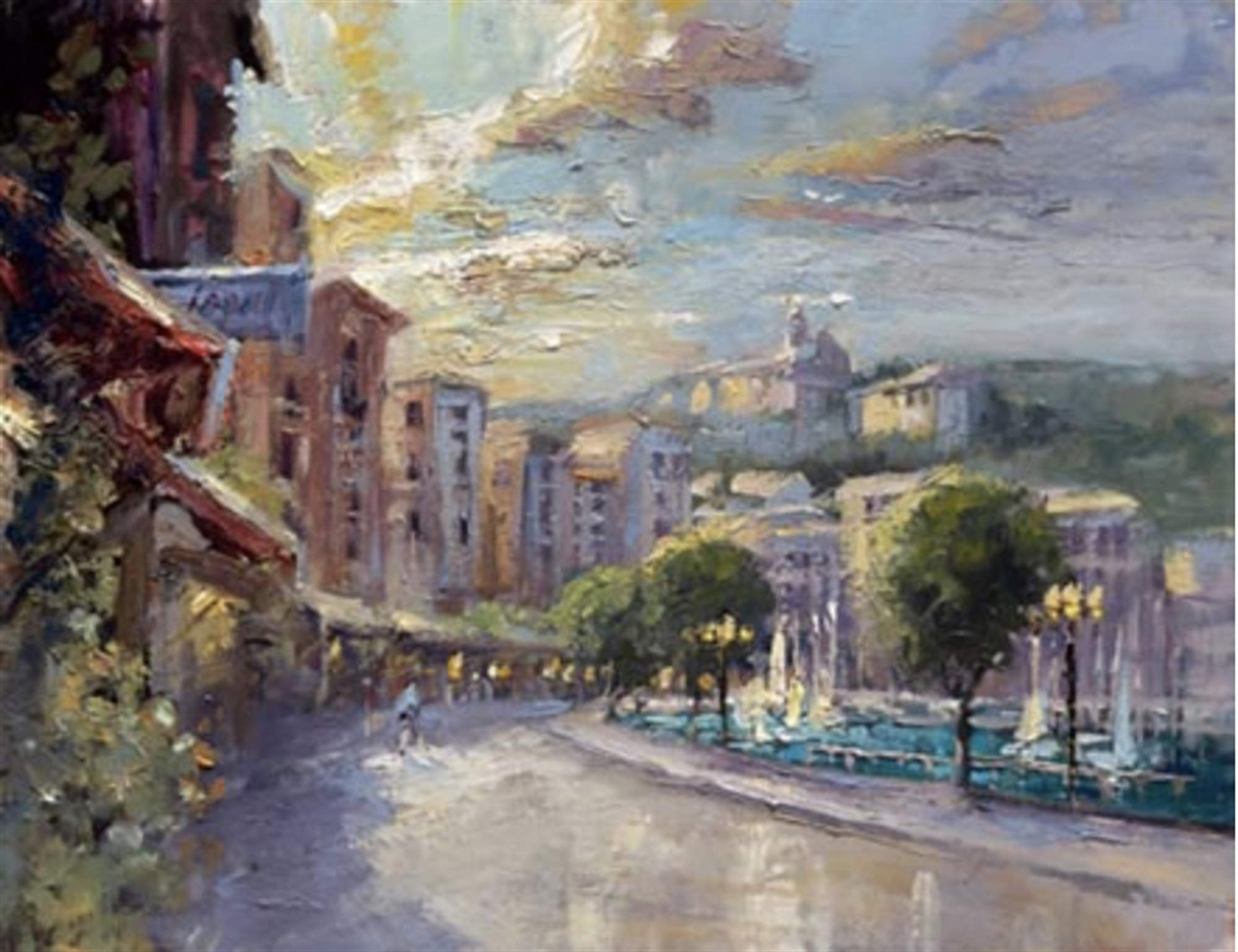 Impressions of St. Jean by Steven Quartly