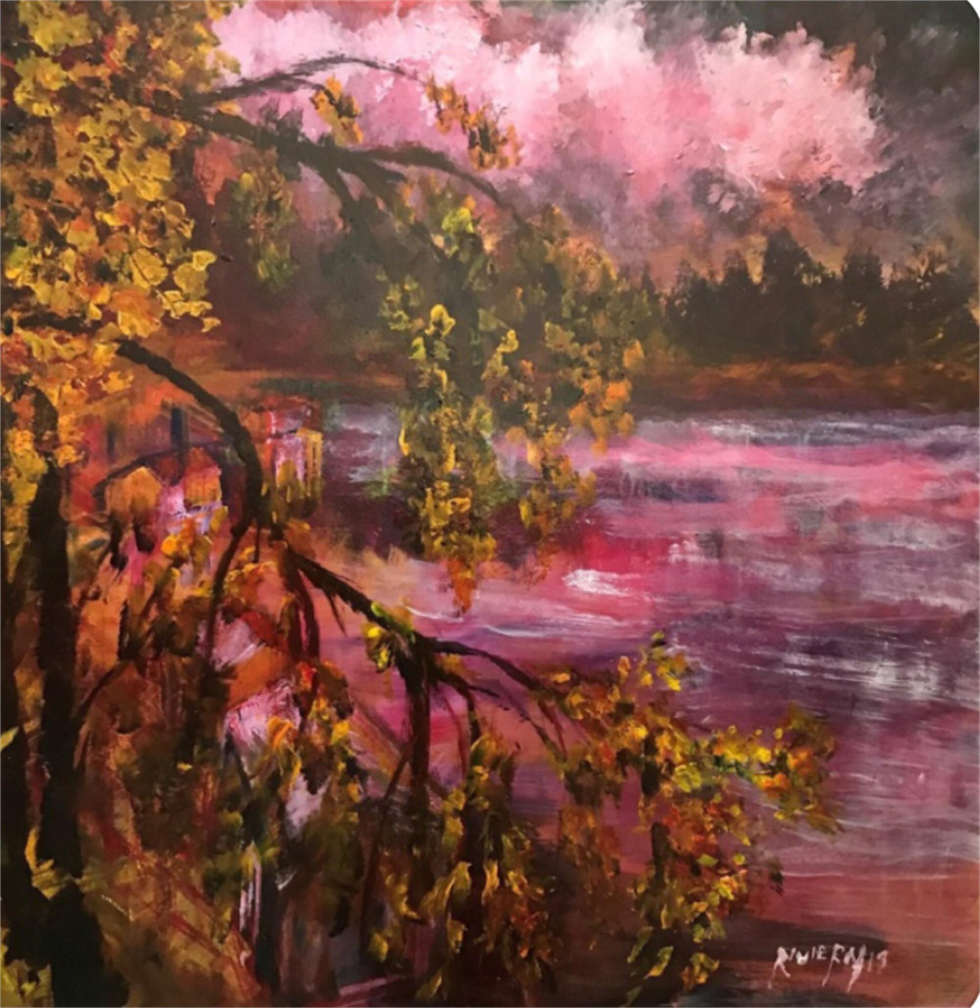 Landscape Purple by Sergio Riviera