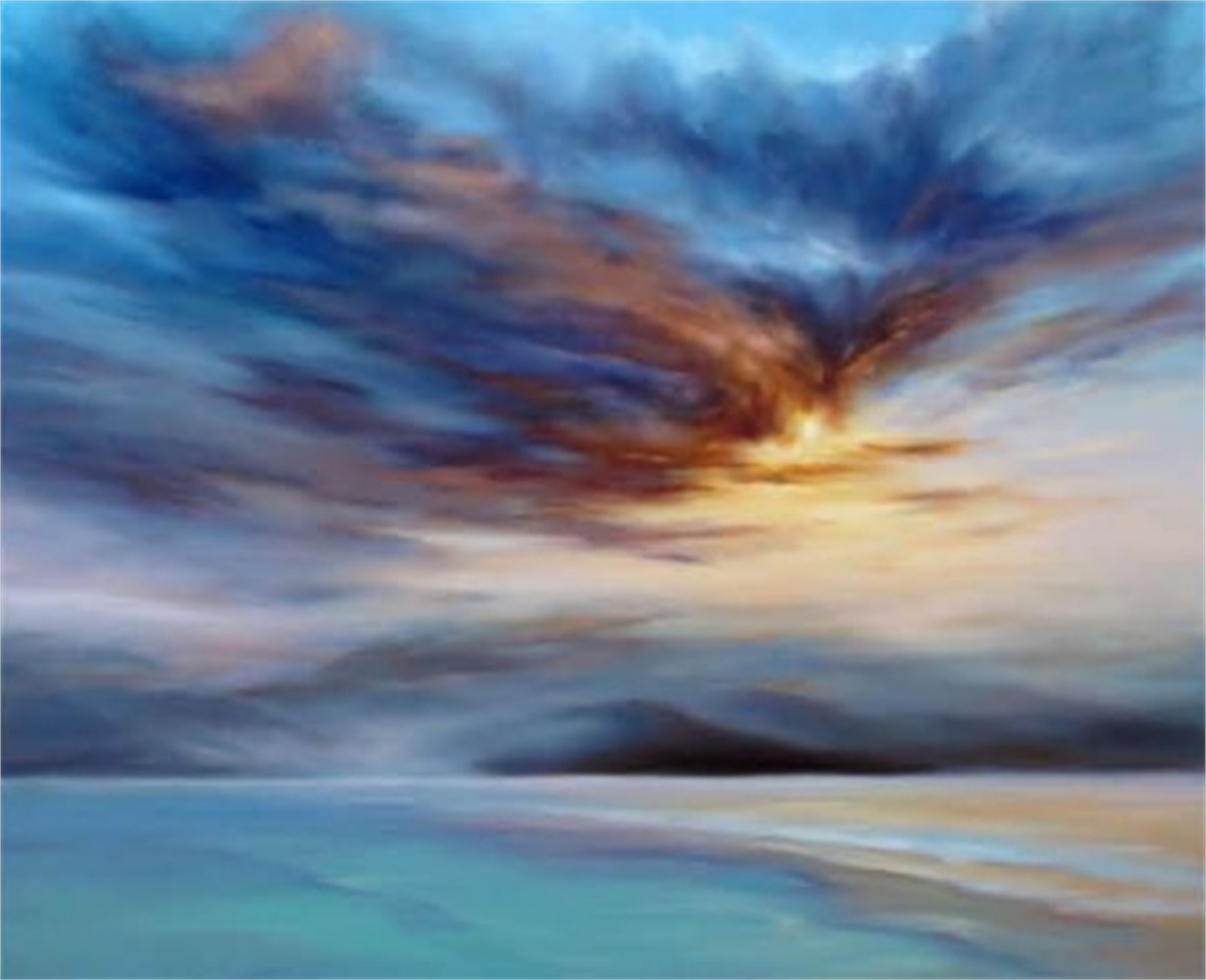 """""""Blue Mists"""" on the North Shore (SN) by Cheryl Kline"""
