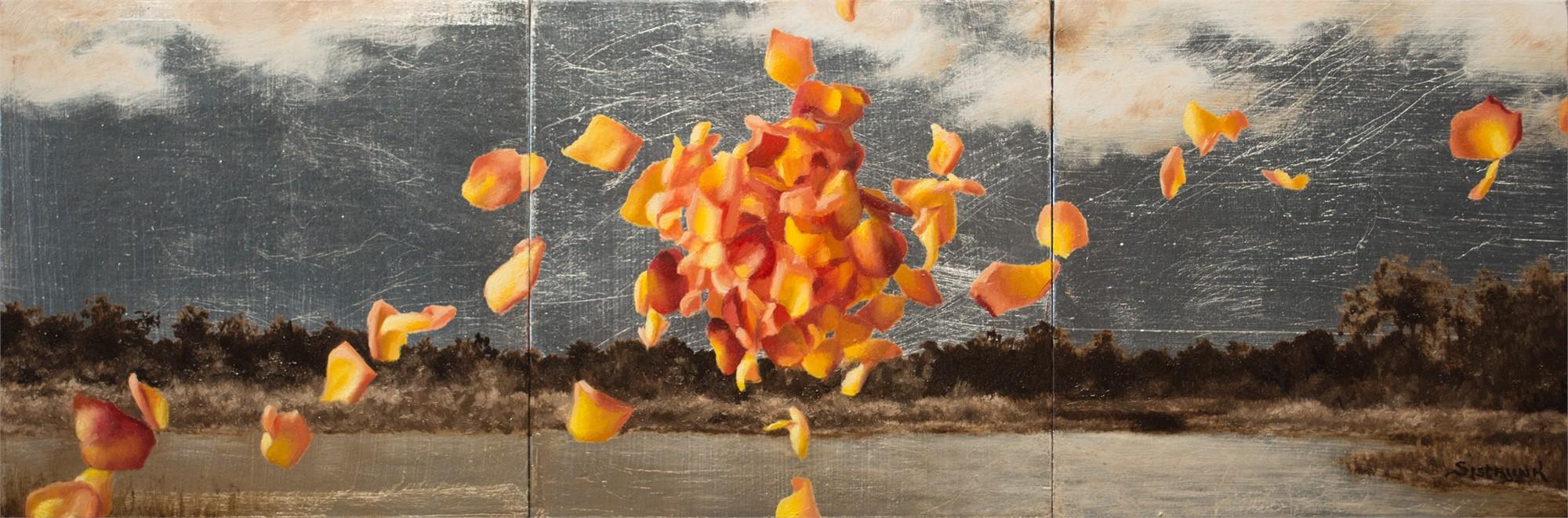 Origin (triptych) by Beth Sistrunk