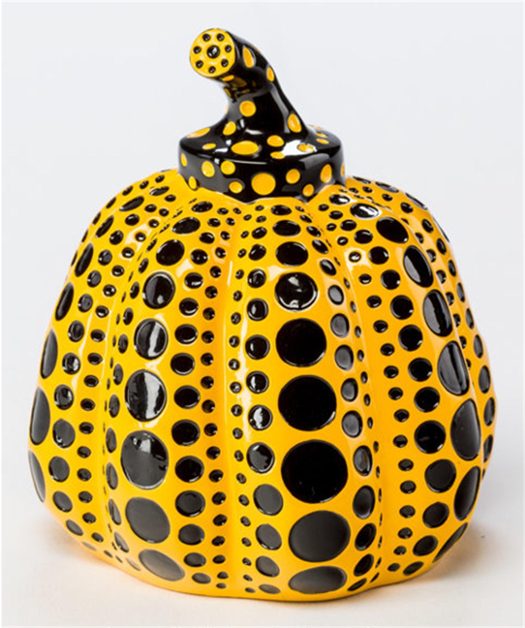 Pumpkin (Yellow) by Yayoi Kusama