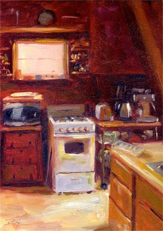 Jeanne's Kitchen by Pam Ingalls