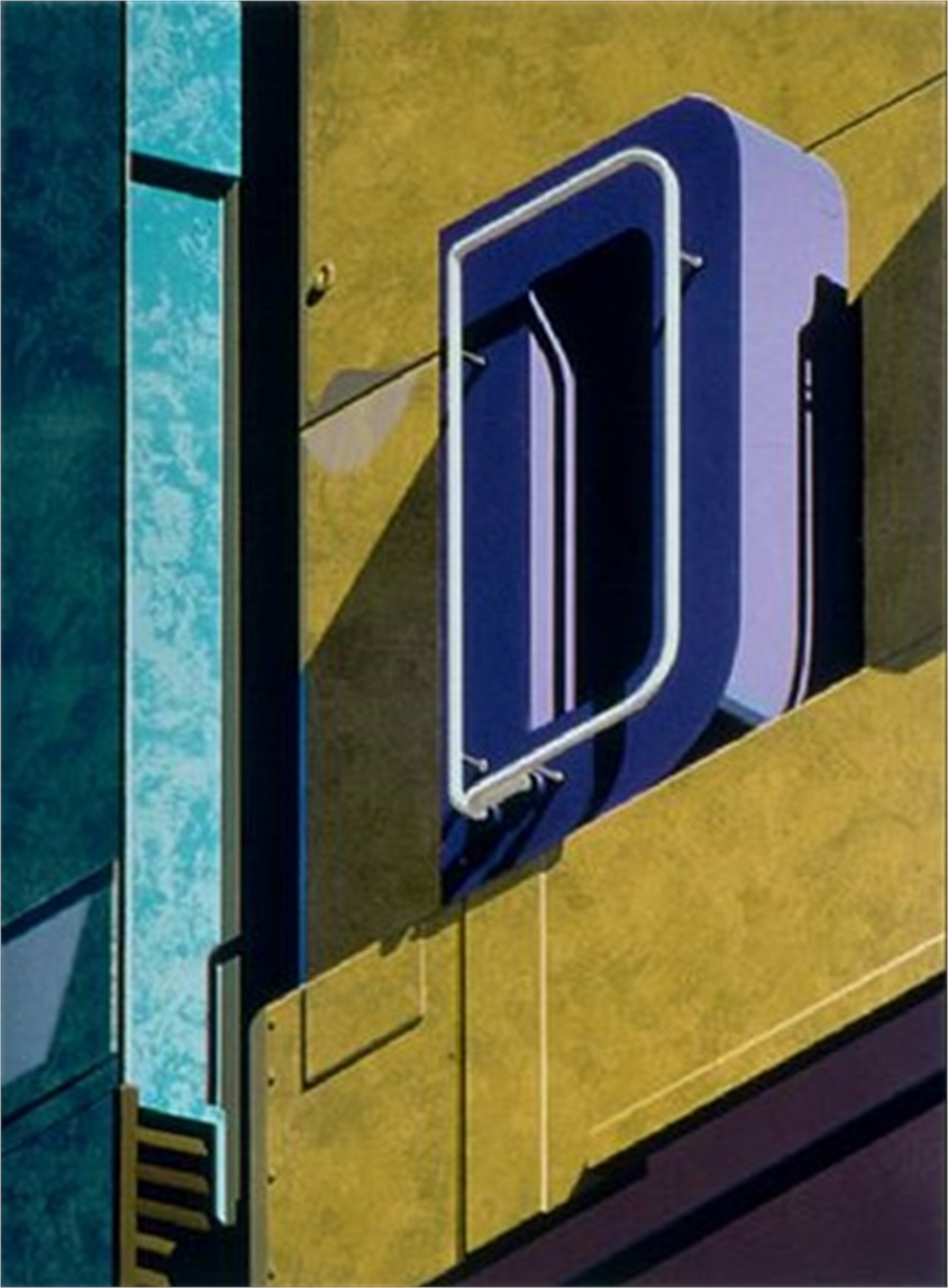 An American Alphabet: D by Robert Cottingham