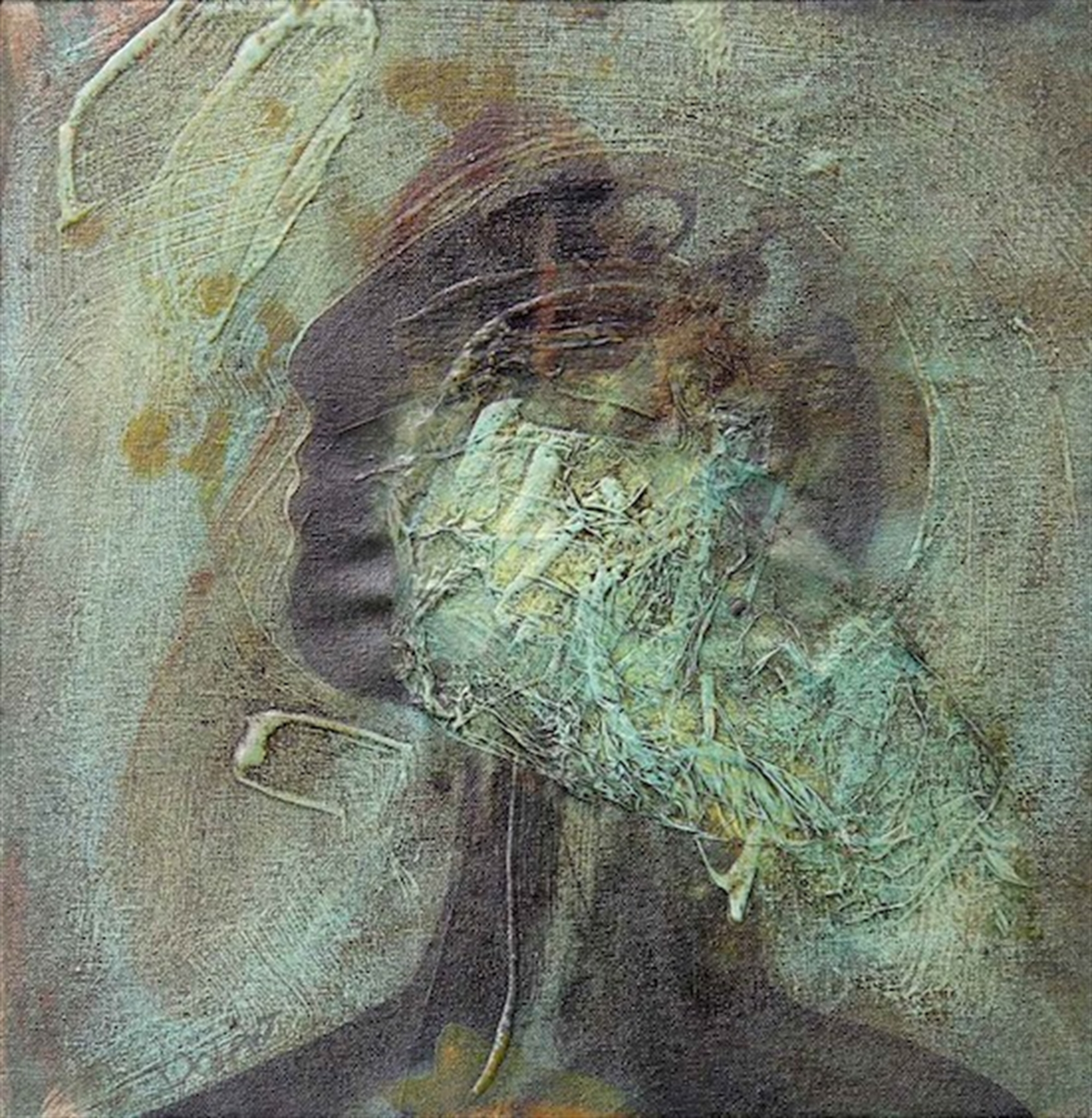 Figure with Veil by Chrissy Dolan-Terrasi