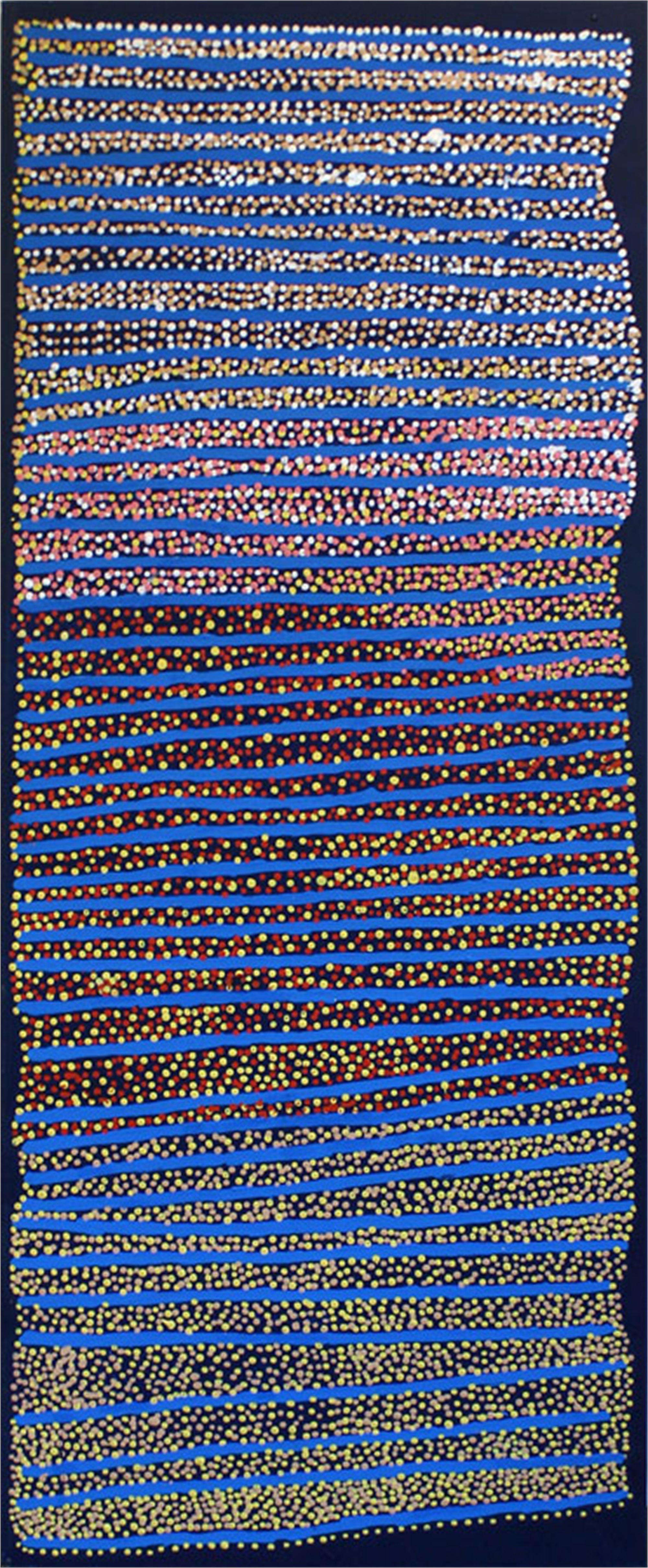 Ngapa Jukurrpa (Water Dreaming) Puyurru by Australian Aboriginal Artists
