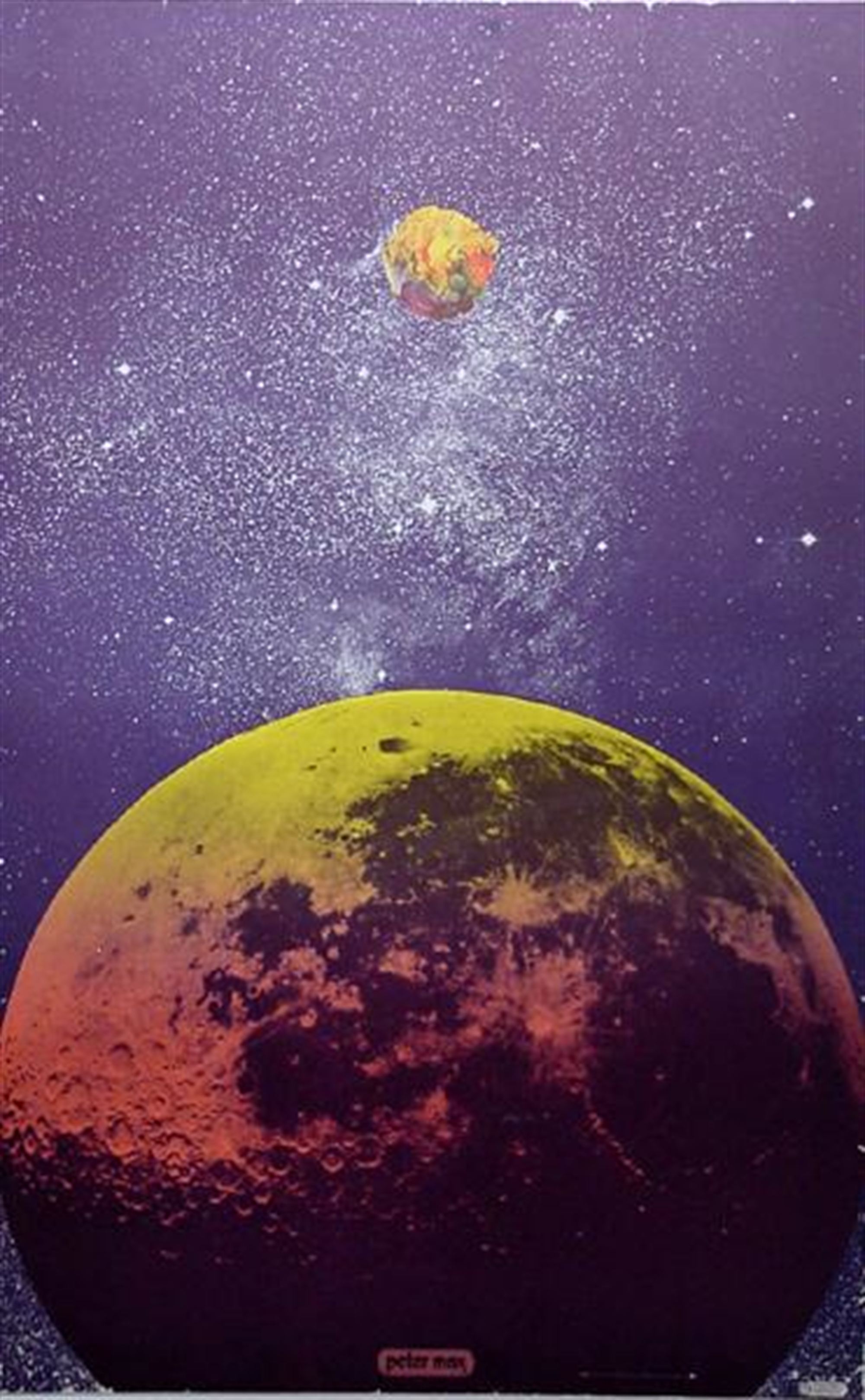 Outer Space #9 by Peter Max