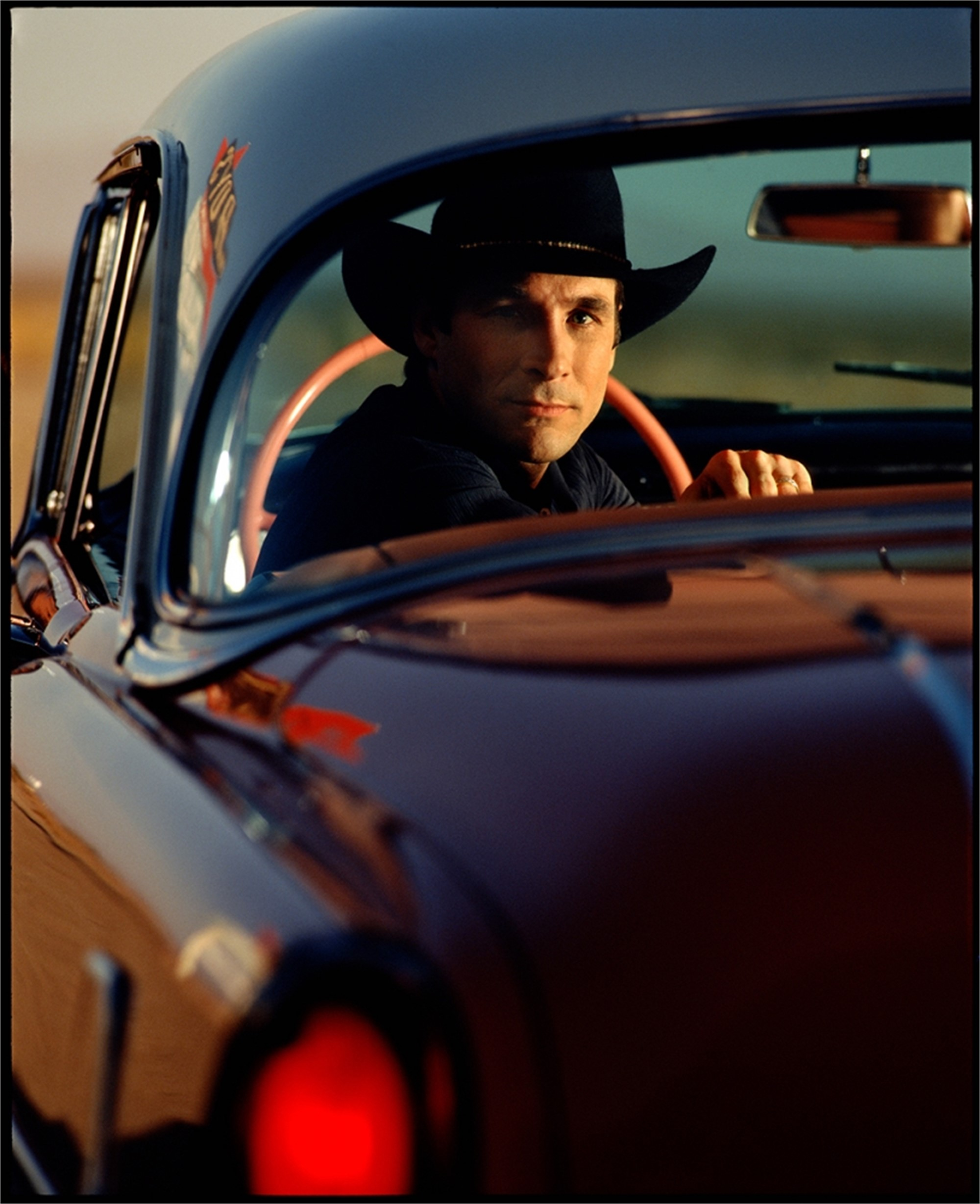 97035 Clint Black In Car Color by Timothy White