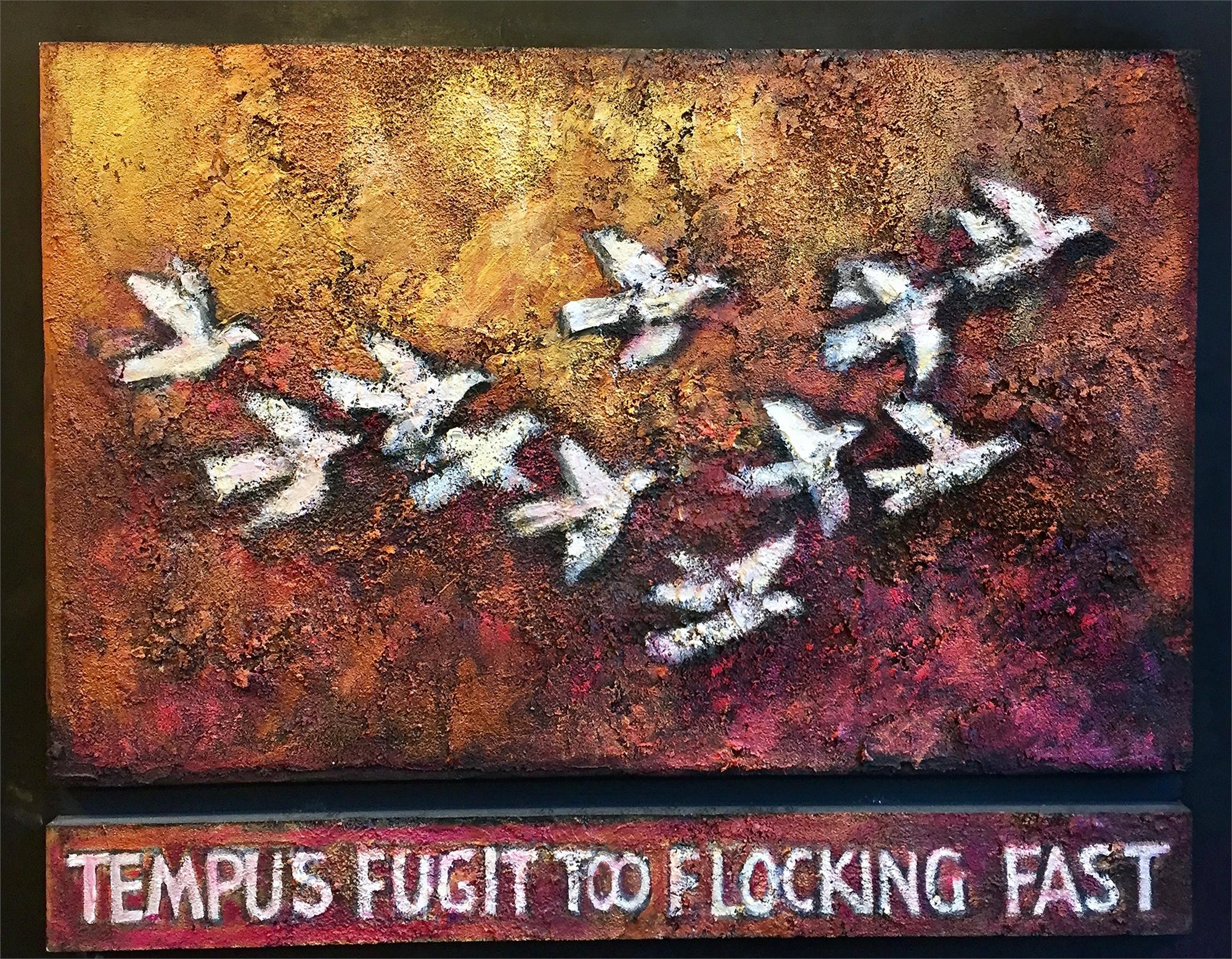 Tempus Fugit  by David Adickes