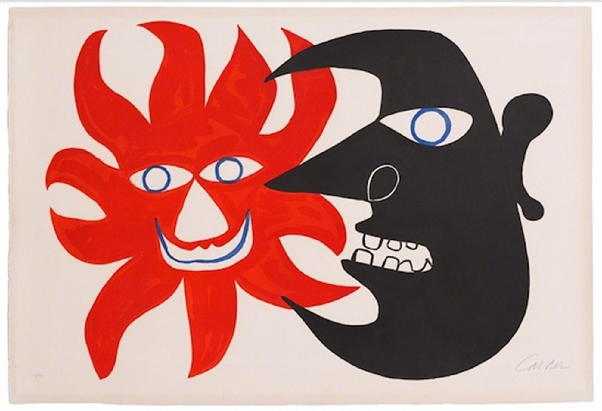 Deux Têtes by Alexander Calder