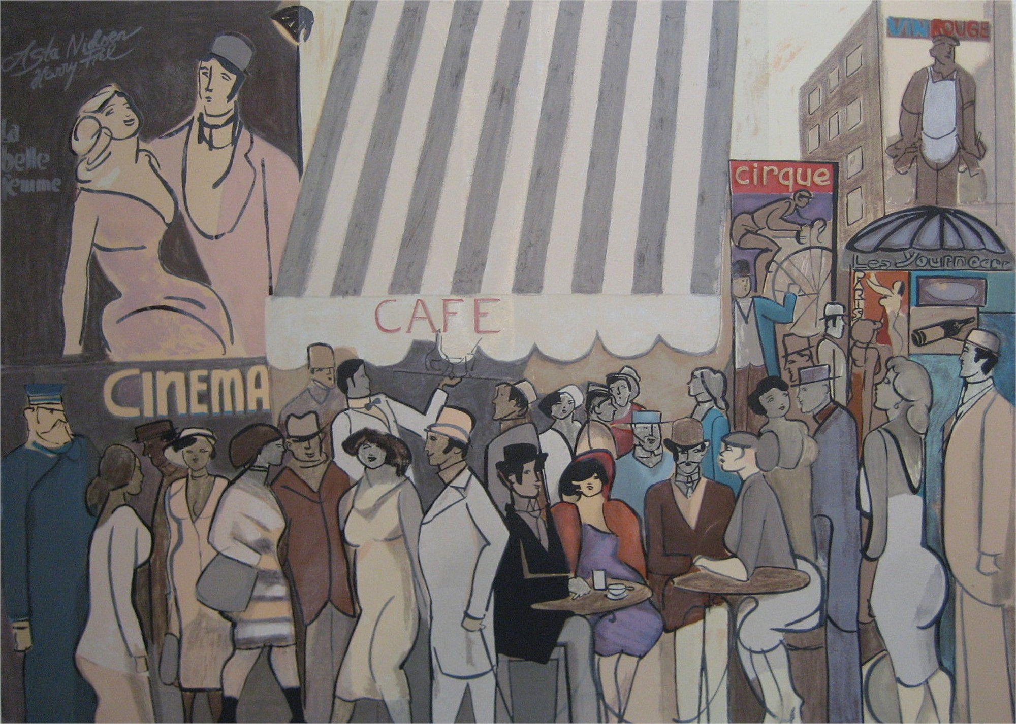 La Belle Femme by David Schneuer