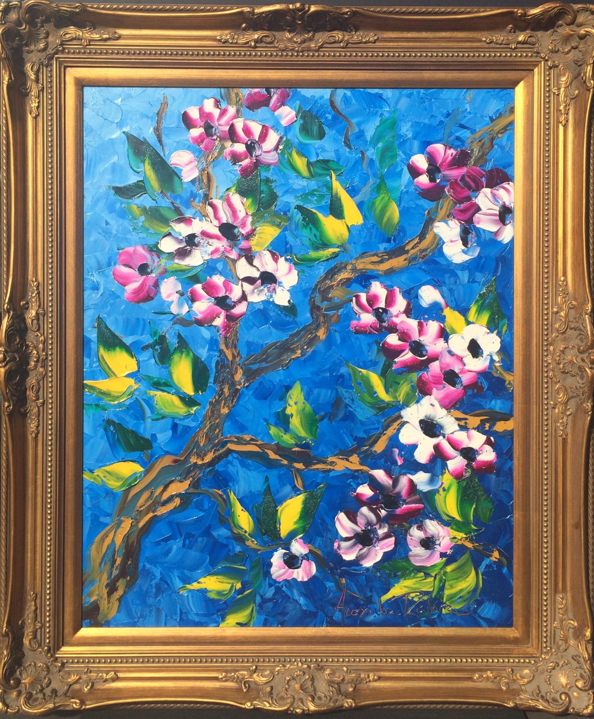 Purple Blossom by Alexandre Renoir