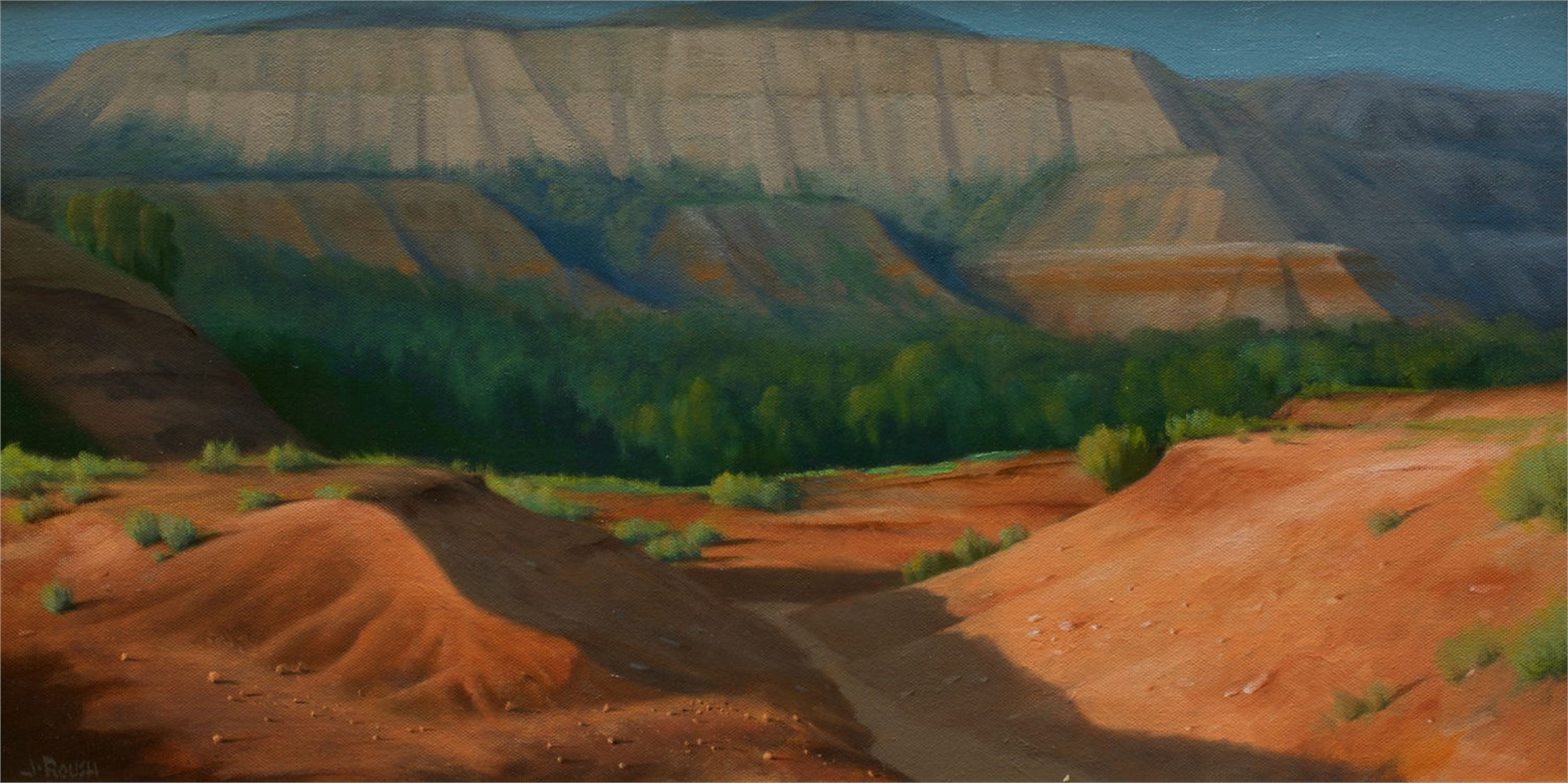 Red Canyon by John Roush