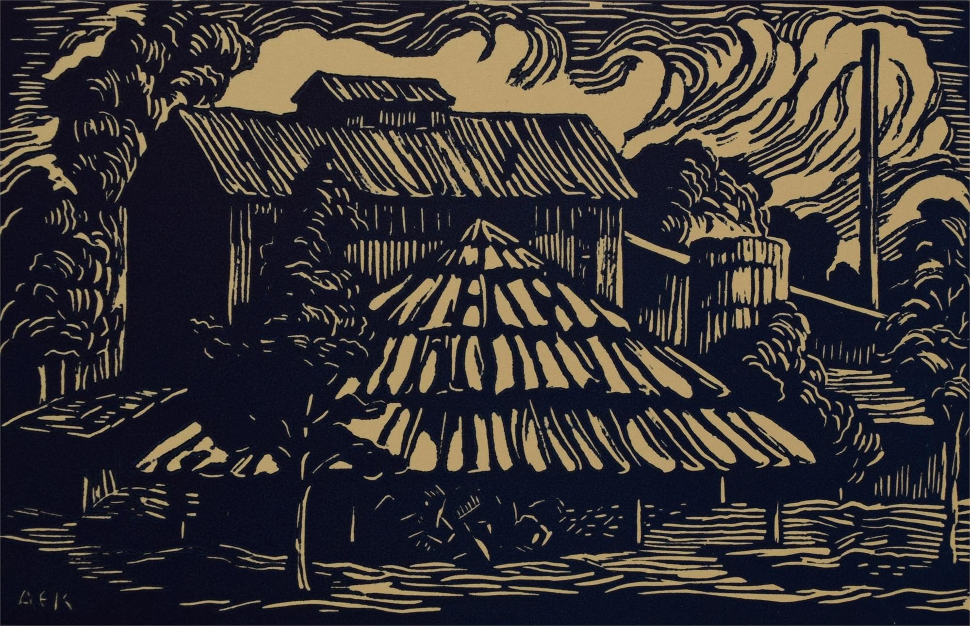 Louisiana Mill by Anna Keener