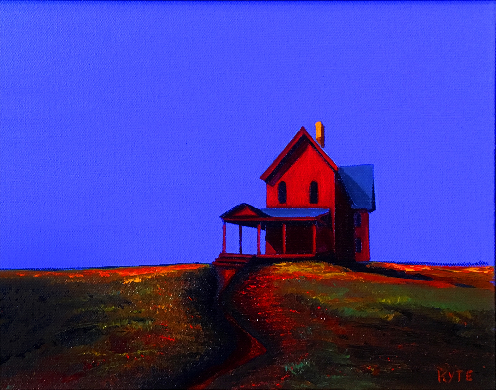 The Red House III by KYTE