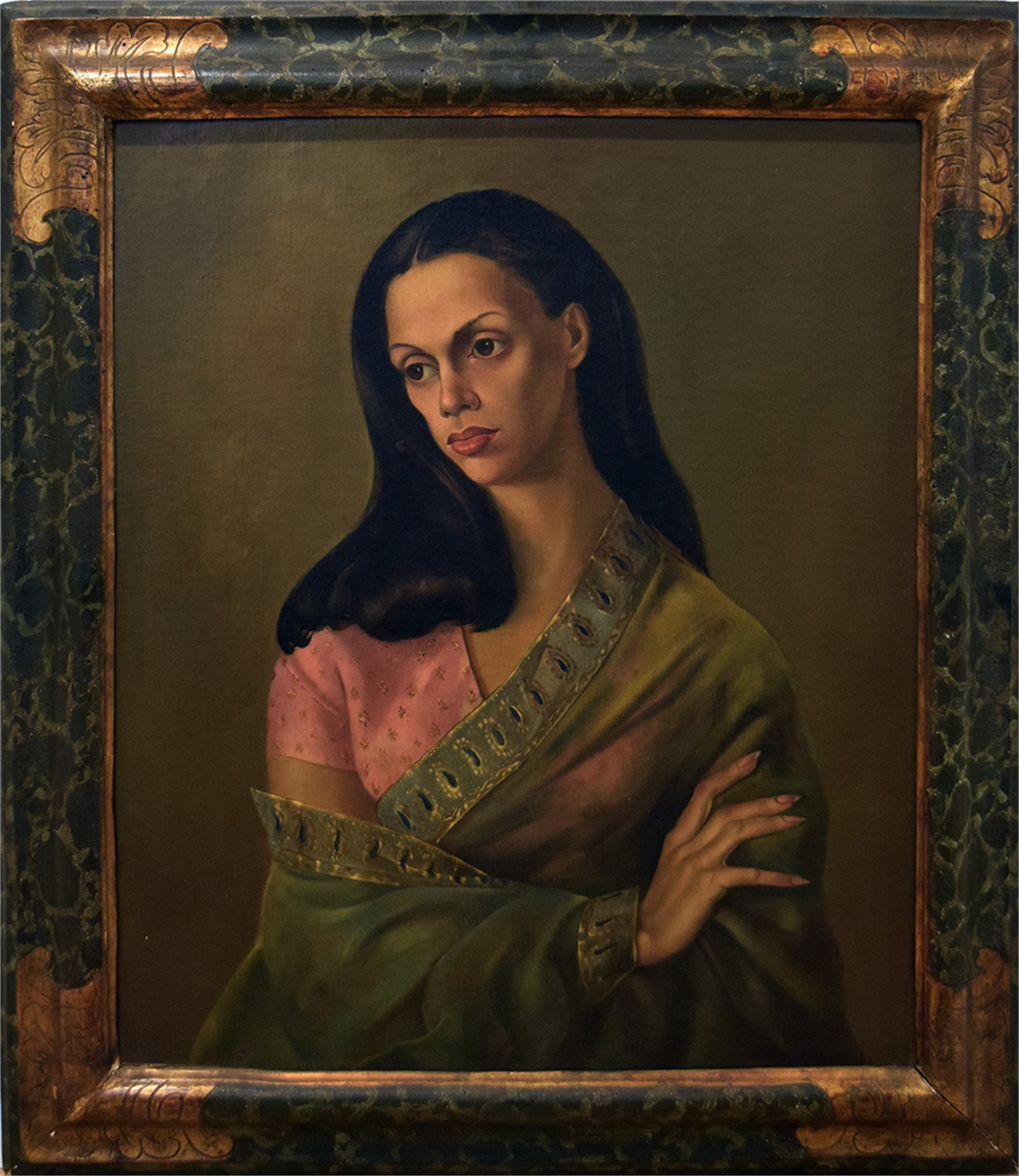 PORTRAIT OF BACHOO DINSHAW, COUNTESS WORONZOW by Leonor Fini