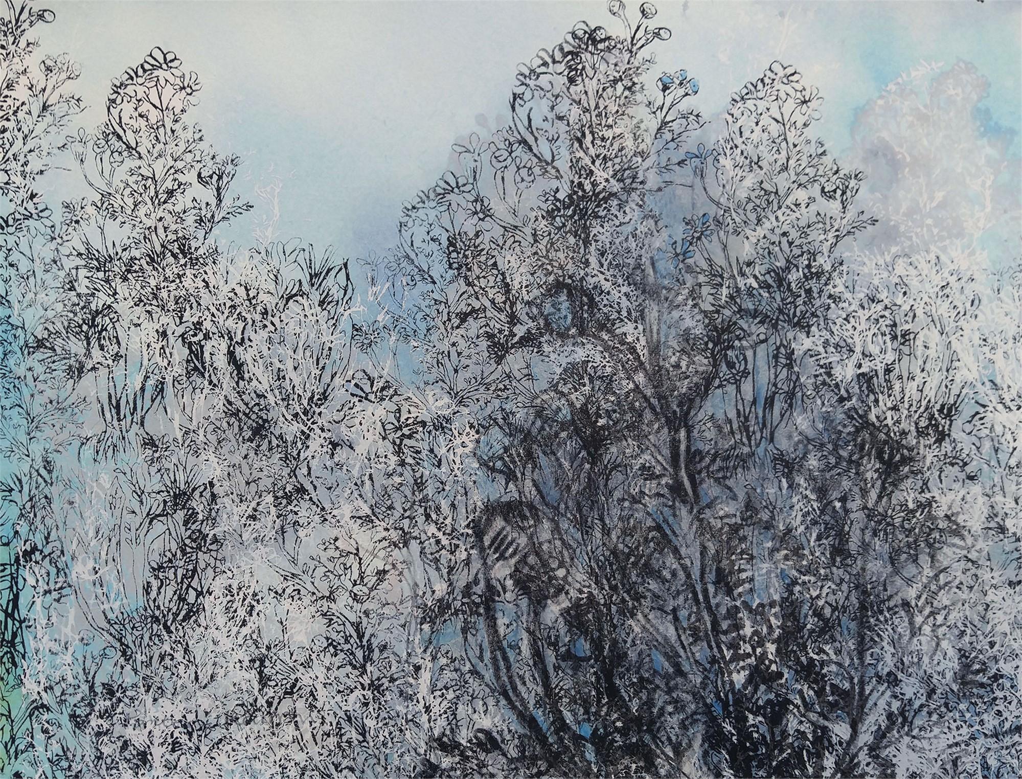 Blue Chamomile i by Pantea Karimi