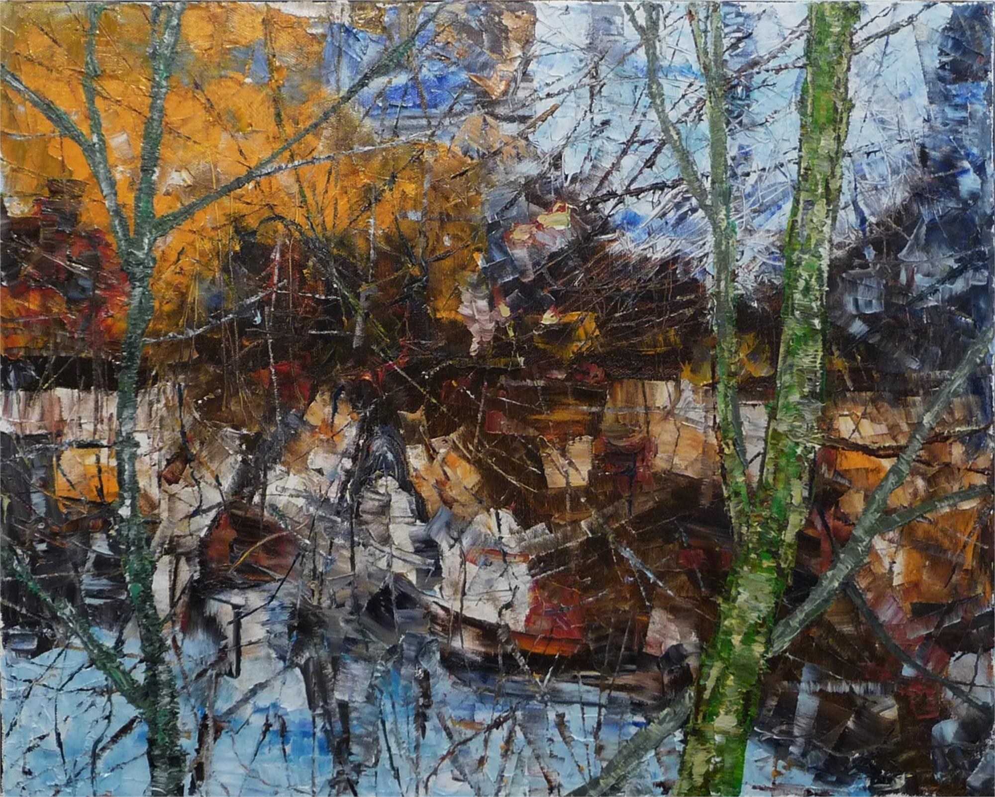 Marsh Edge by Chris Charlebois