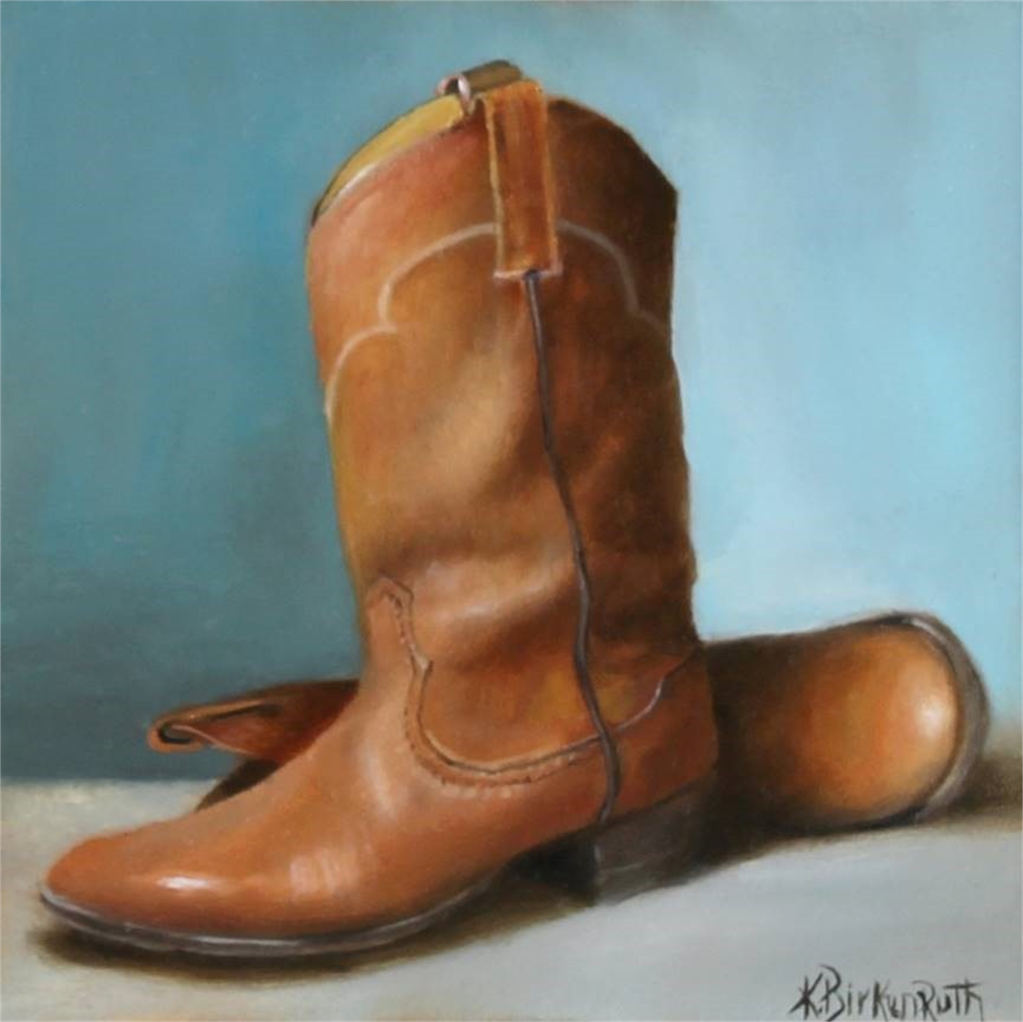Round Toe by Kelly Birkenruth