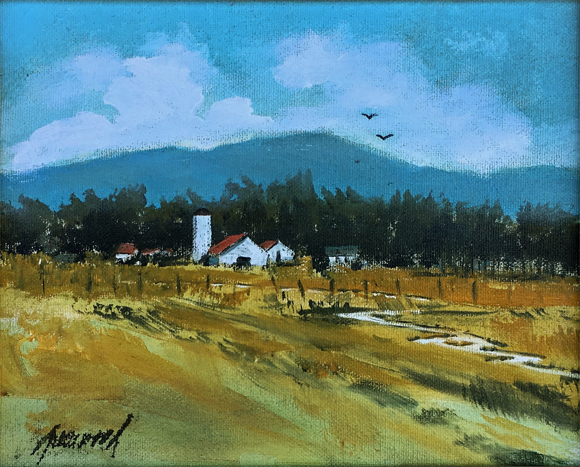 Country Fields by Greenwood