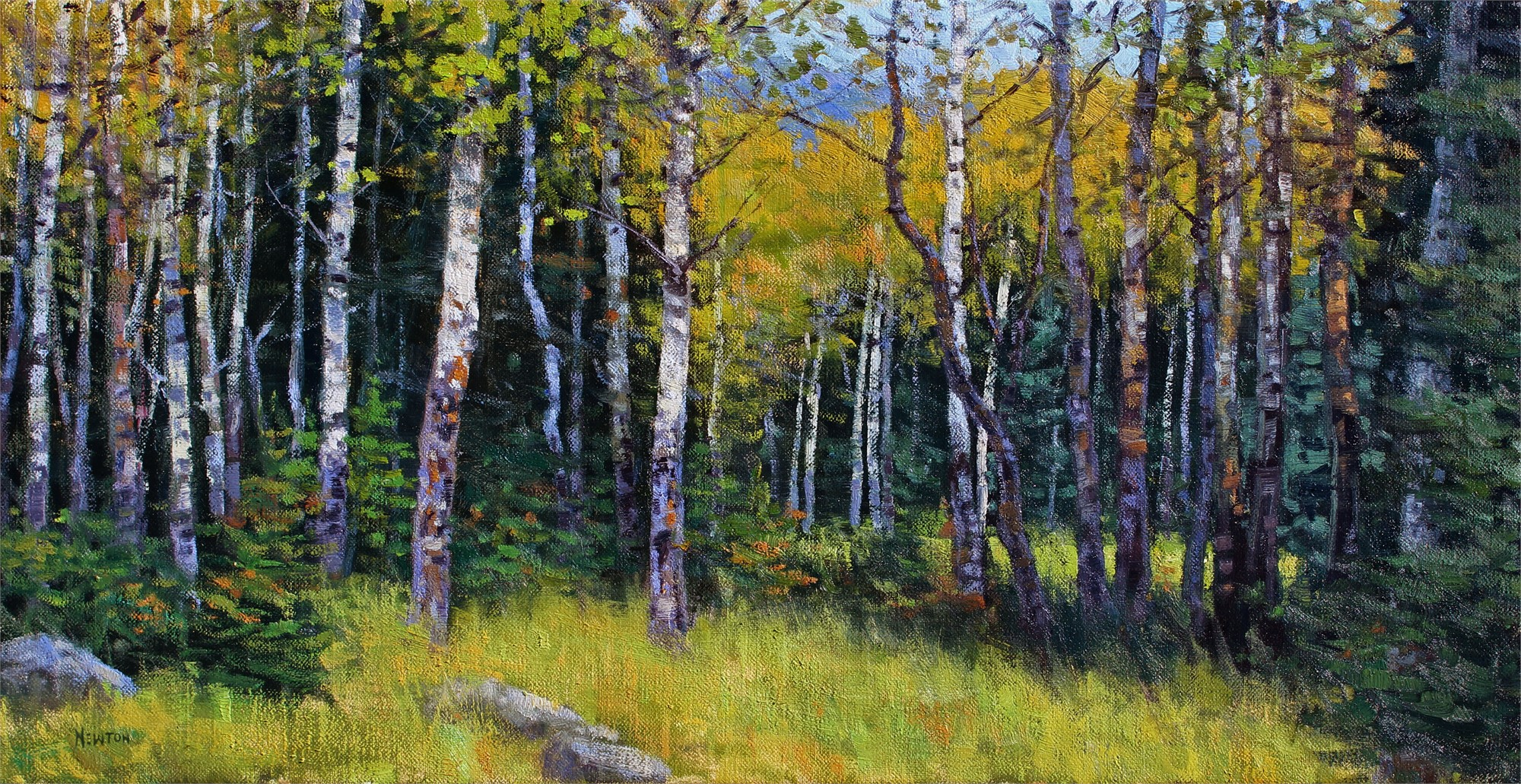42 Aspens by Wes Newton