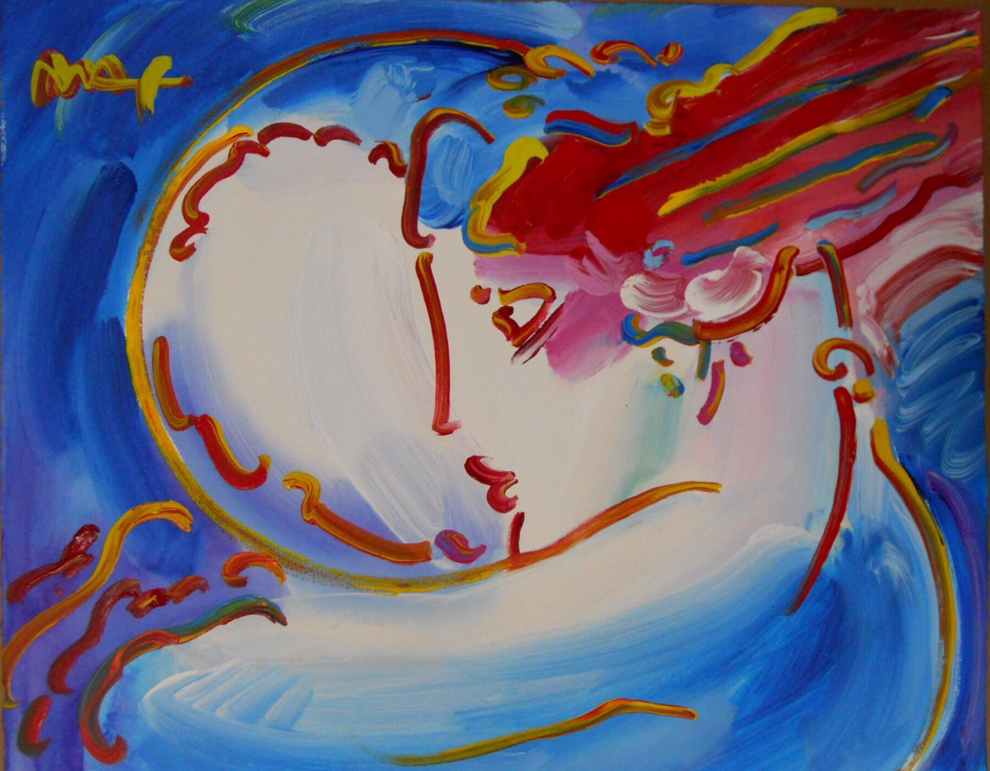 I Love the World by Peter Max