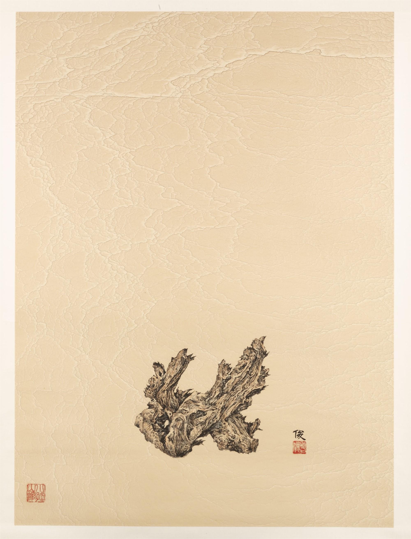 WOOD SCHOLAR'S ROCK by Xiaojun Zeng
