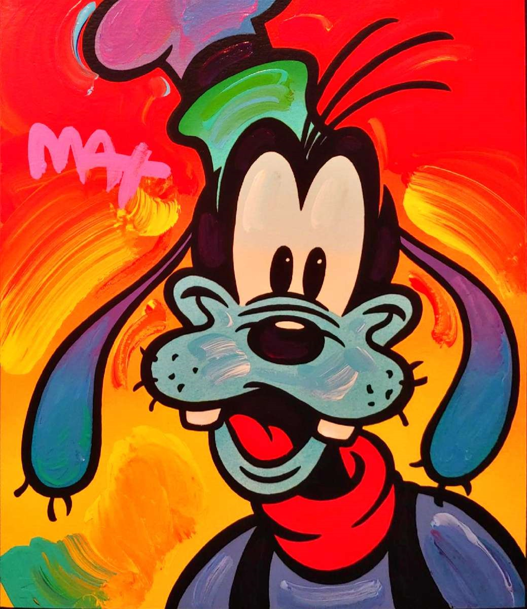 GOOFY by Peter Max