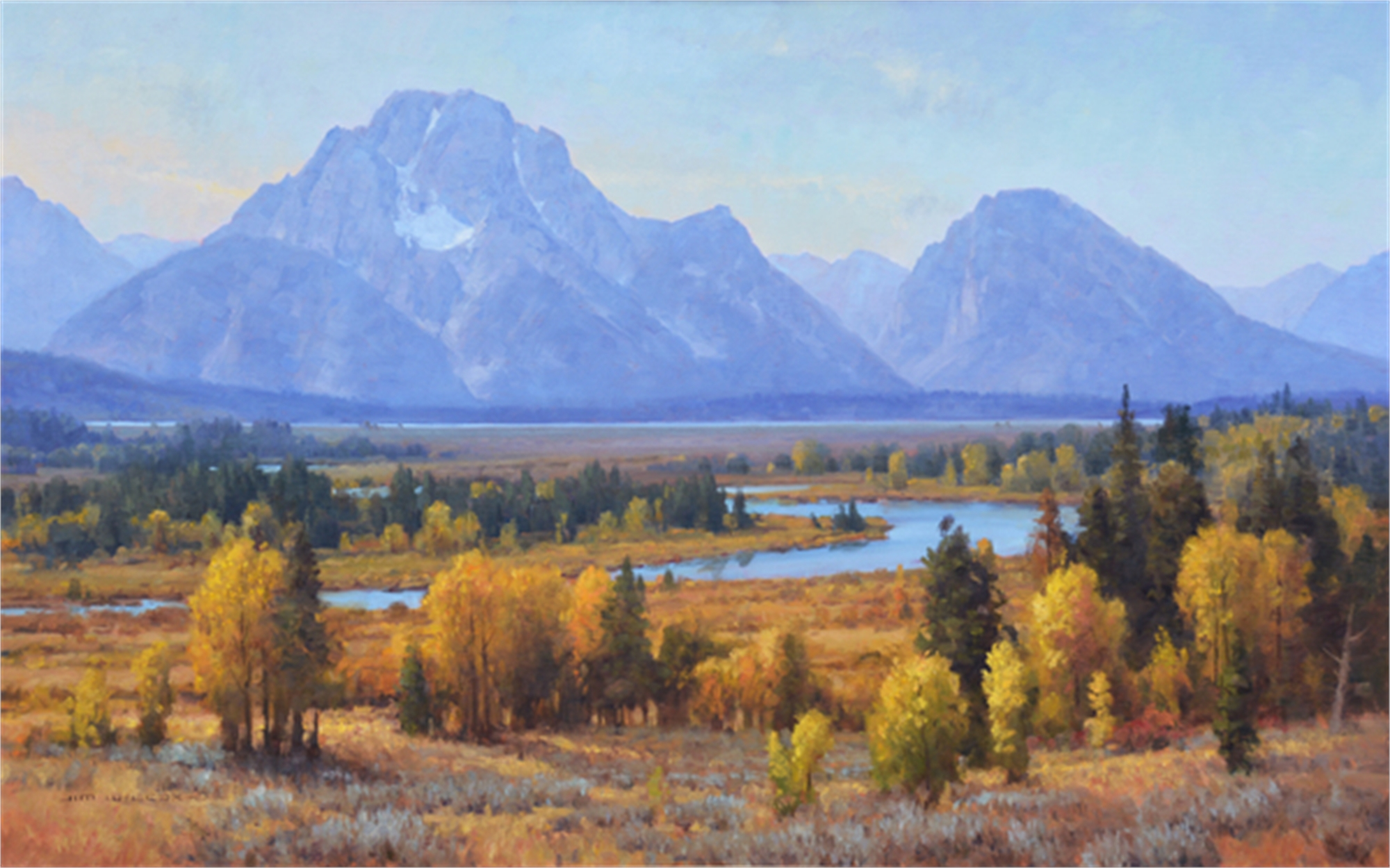 Golden Layers by Jim Wilcox