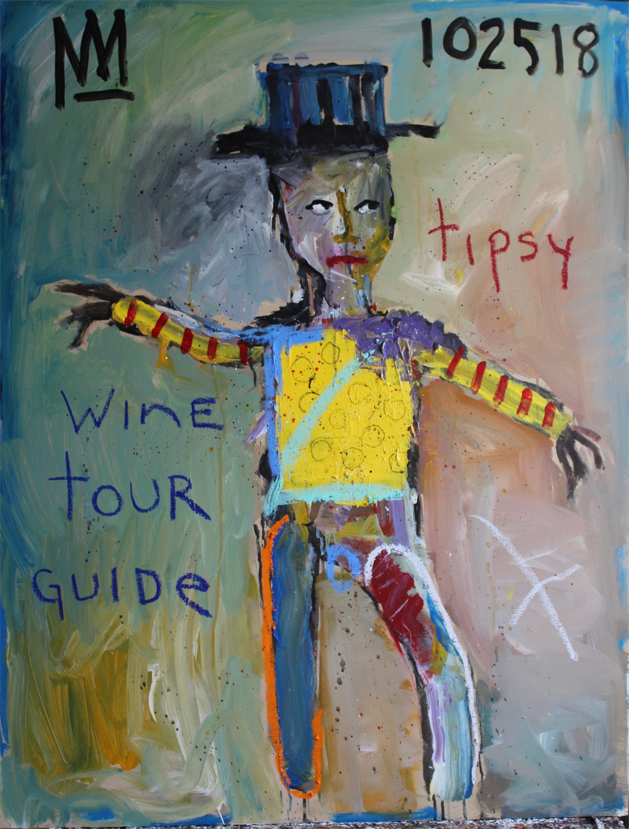 Tipsy Wine Tour Guide by Michael Snodgrass