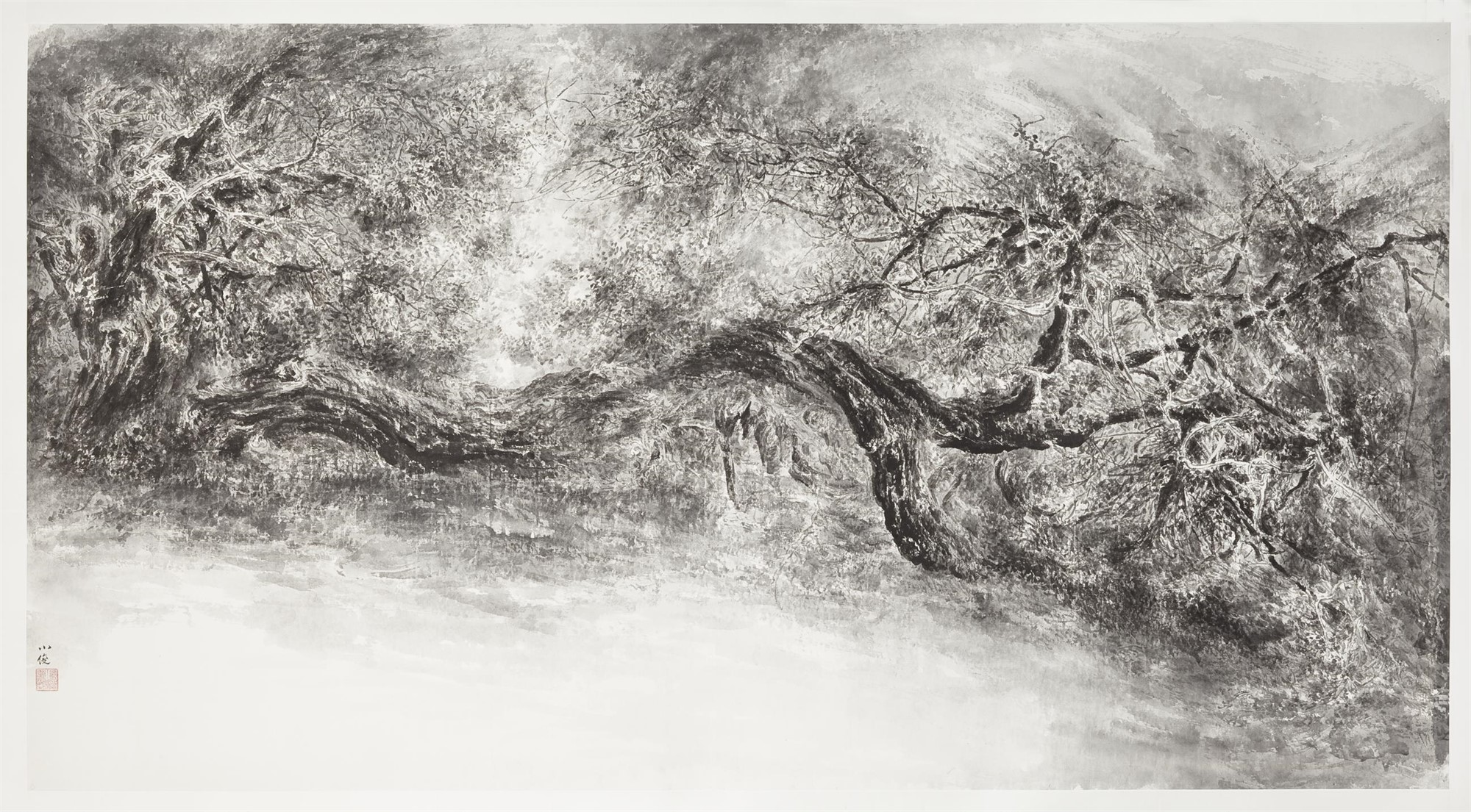 TREE STUDY NO. 3 by Xiaojun Zeng