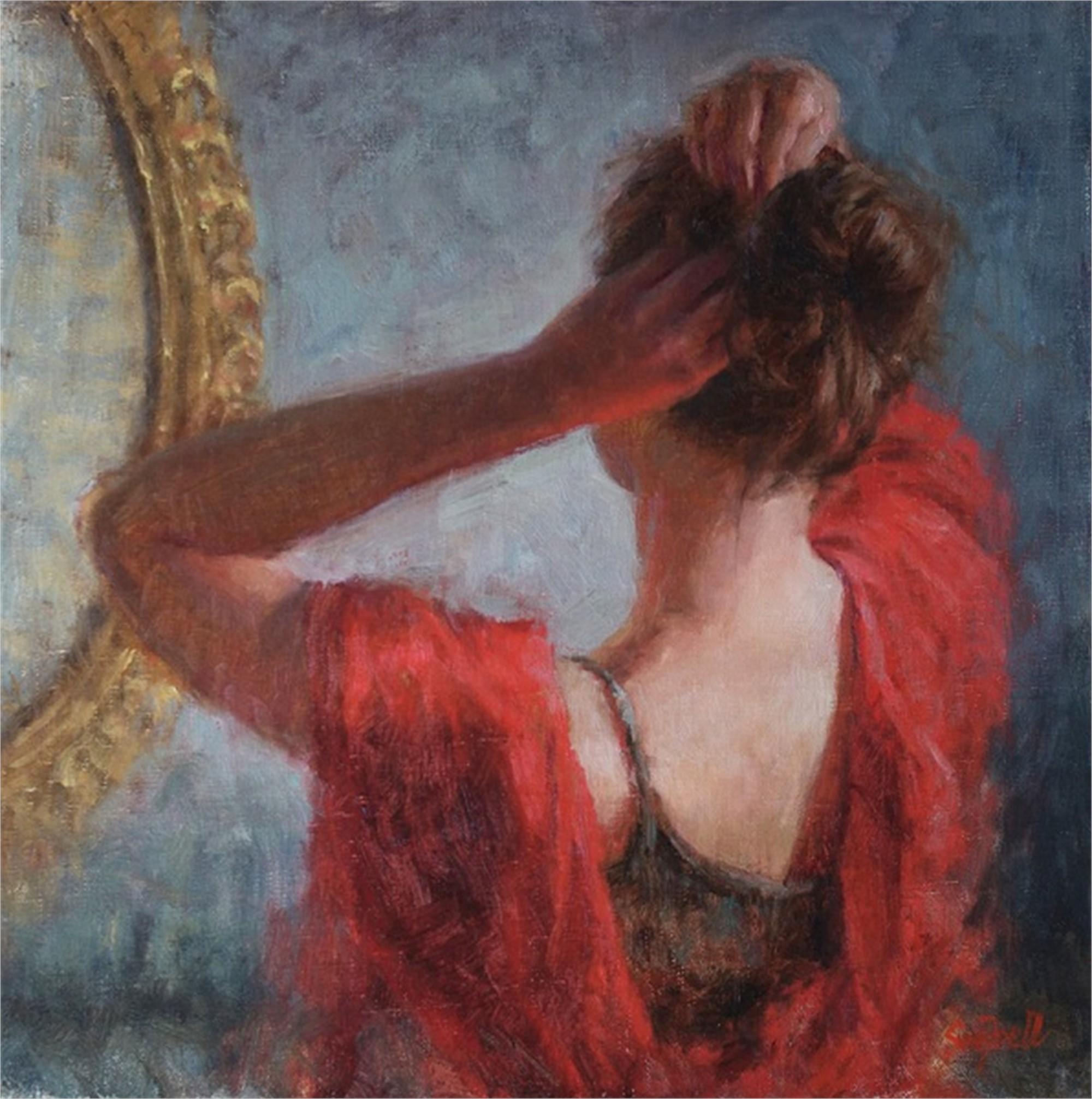 Updo by Sue Foell, OPA