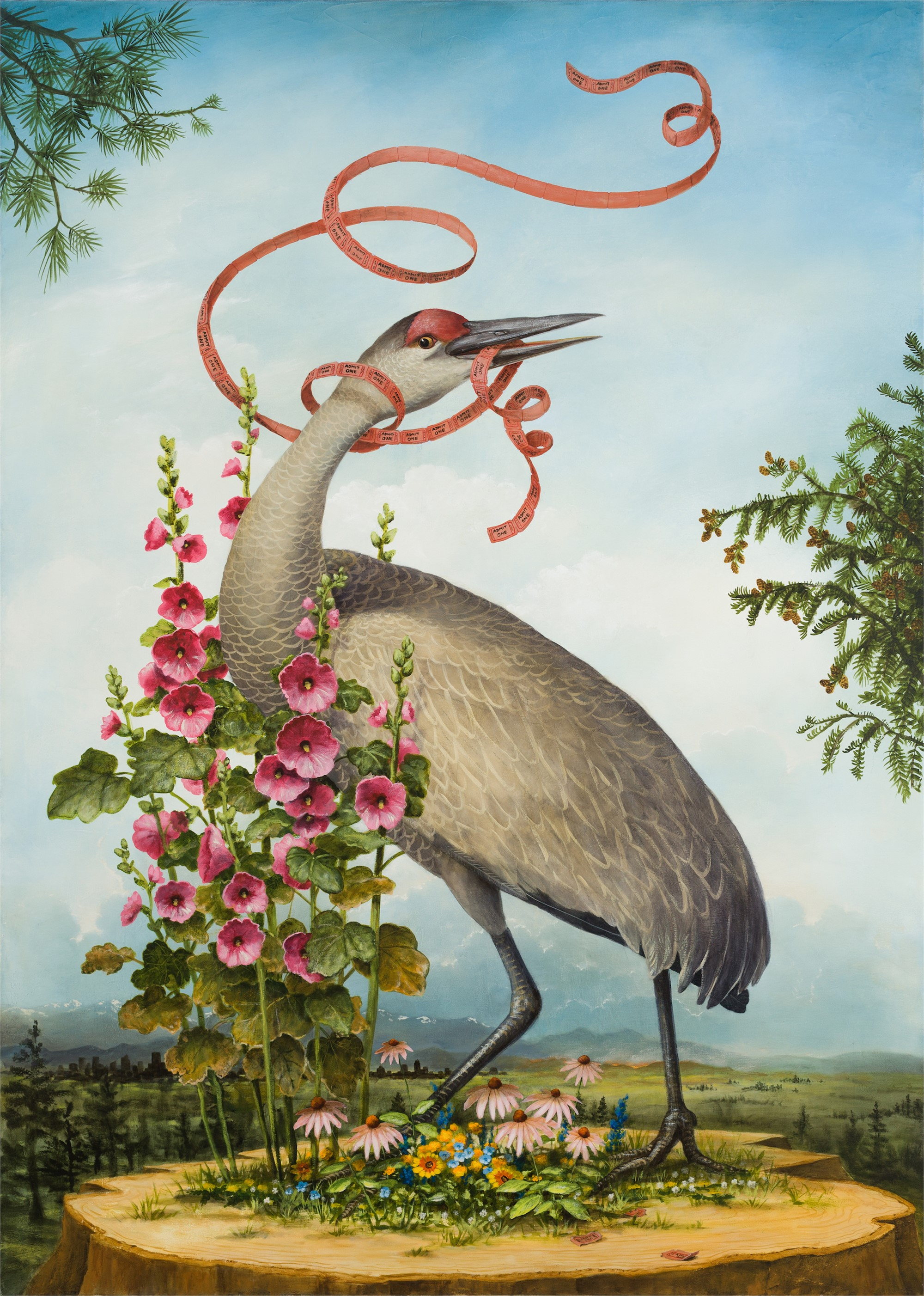 Admit One by Kevin Sloan