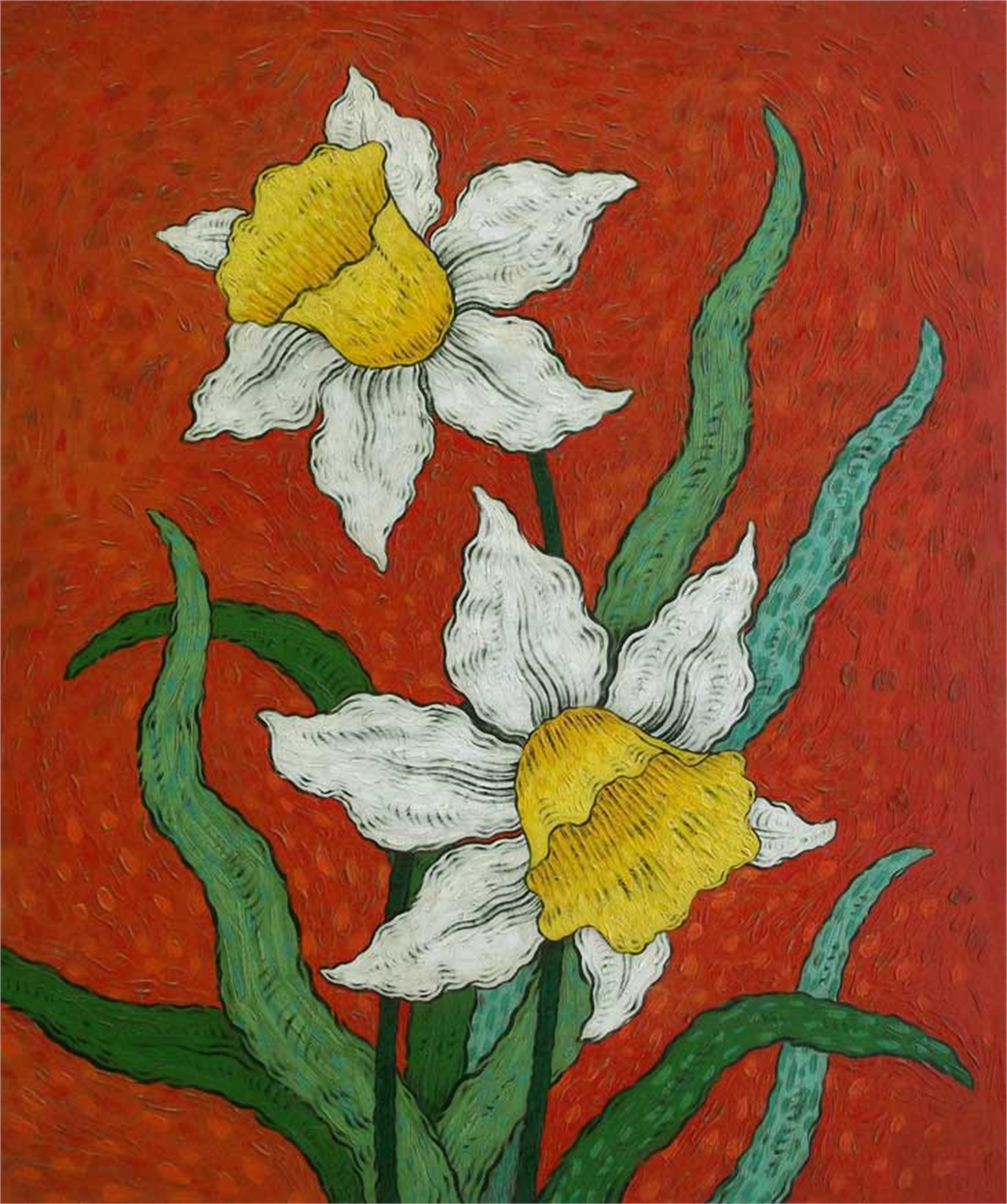 White Daffodils 2 by Mark Briscoe