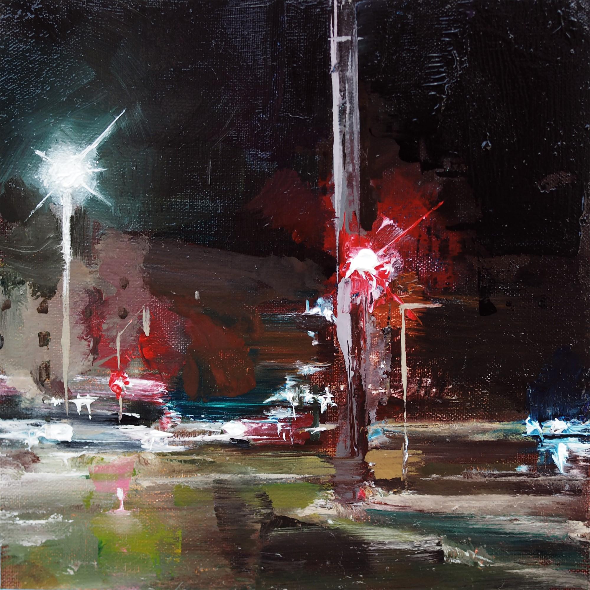Traffic Study IV by Heiko Mattausch